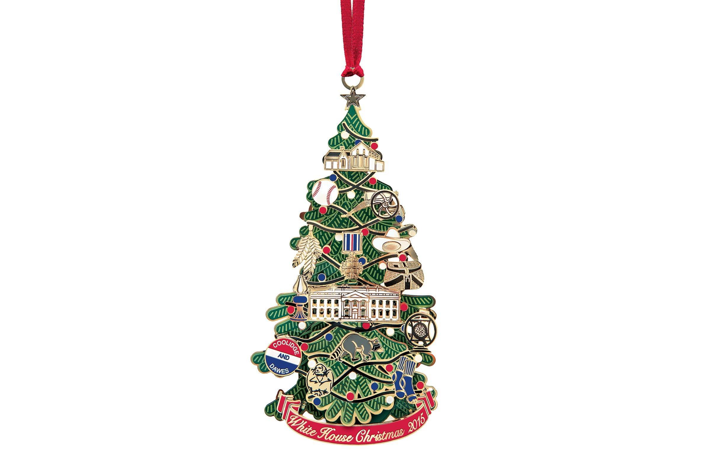 Career christmas ornaments - 2015 The President Who Brought Christmas Cheer