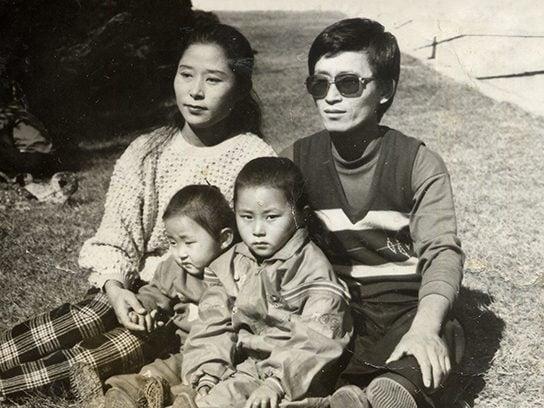 february 2016 escape from north korea family photo