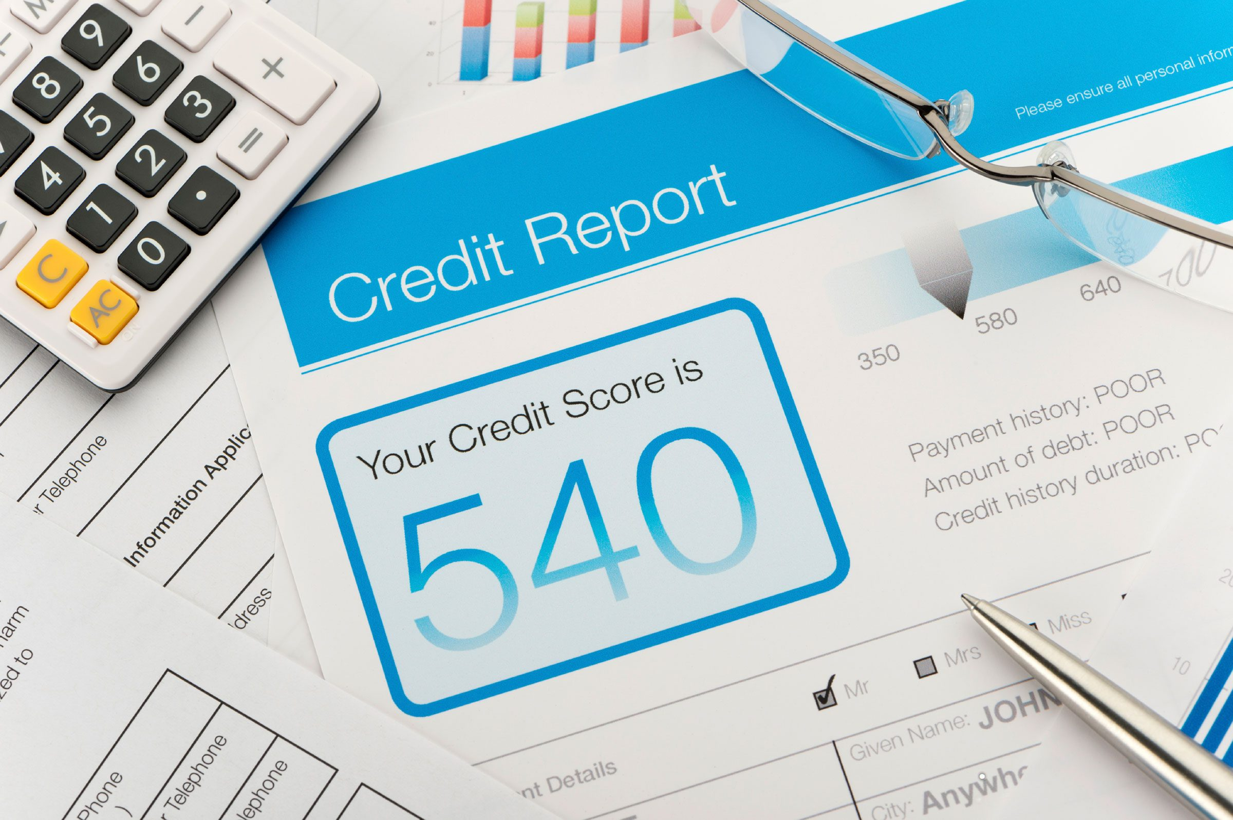 6. Filing late can hurt your credit score – eventually