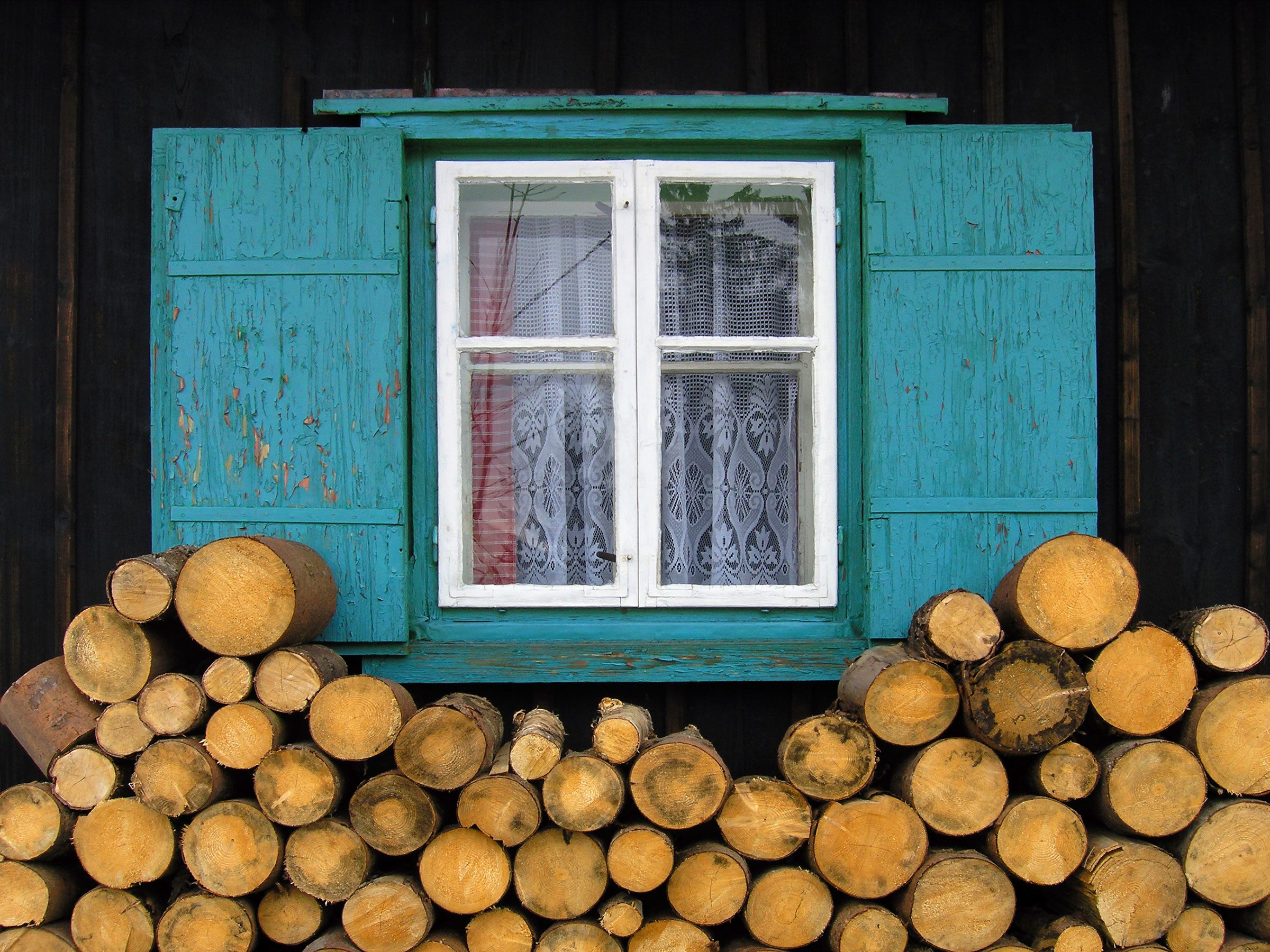 9. Don't store wood near the side of the house, as it can easily be used by intruders as a stepladder up to a window.