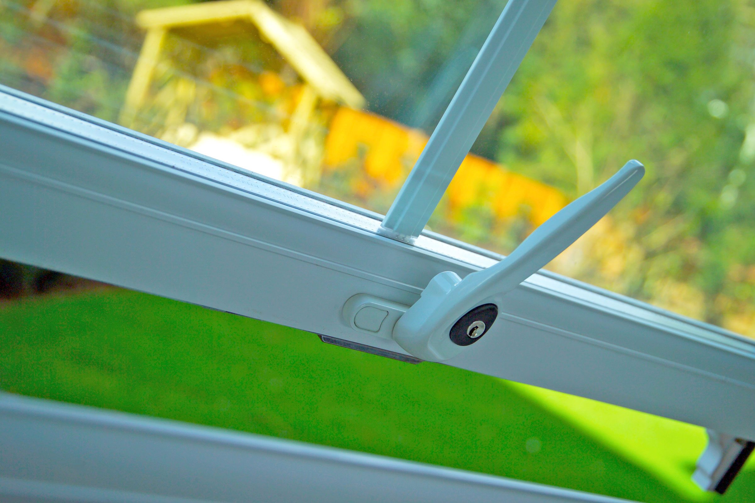10. If a yard worker or unknown  visitor uses the bathroom, he may unlatch the window so he can gain entry later.