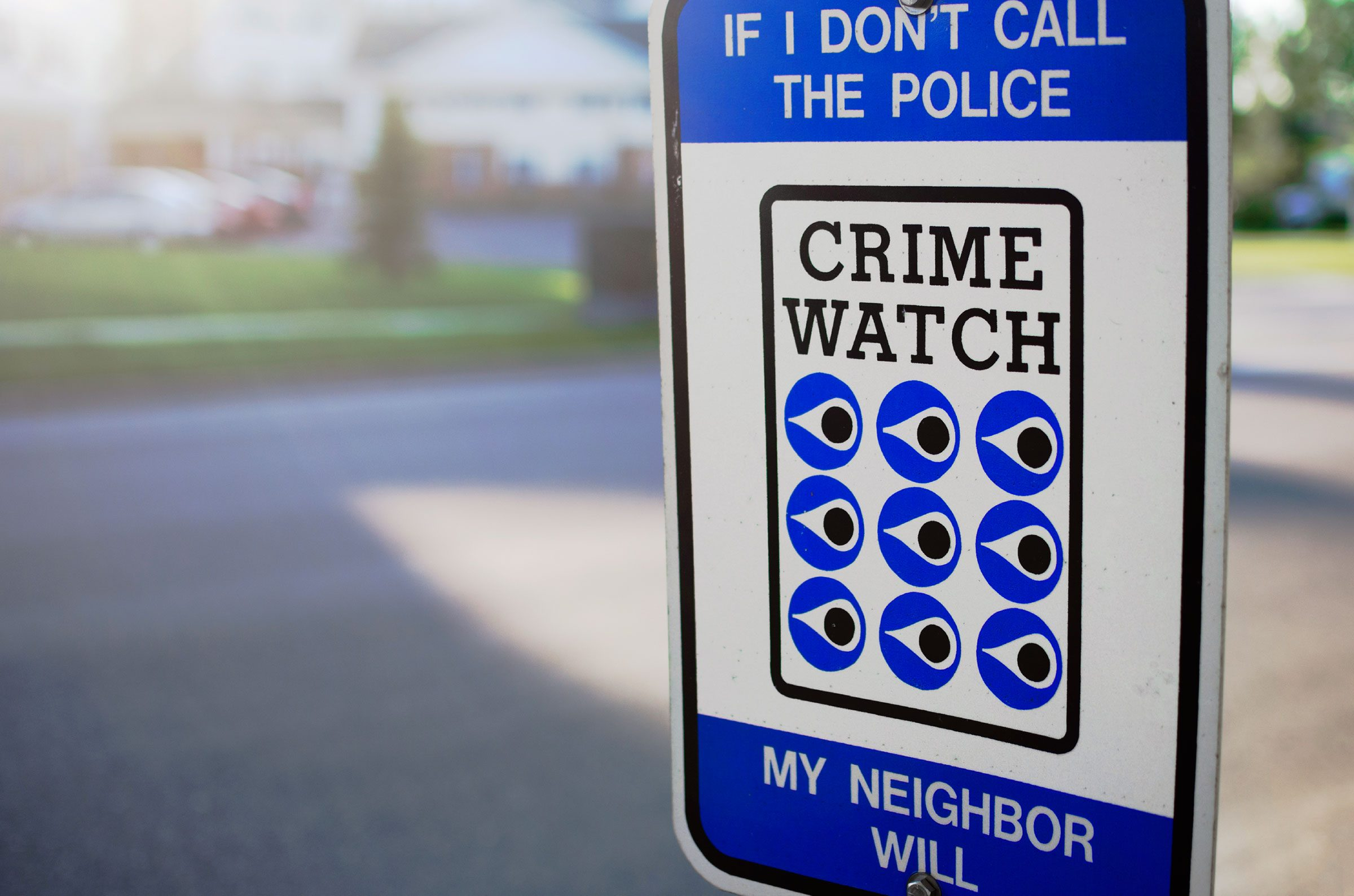 13. Join a community-wide crime-prevention program.