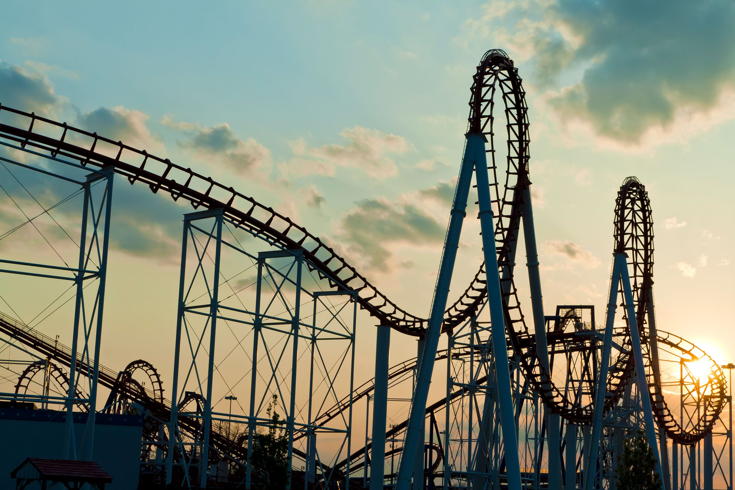 What's with that stomach-in-your-throat feeling on roller coasters?