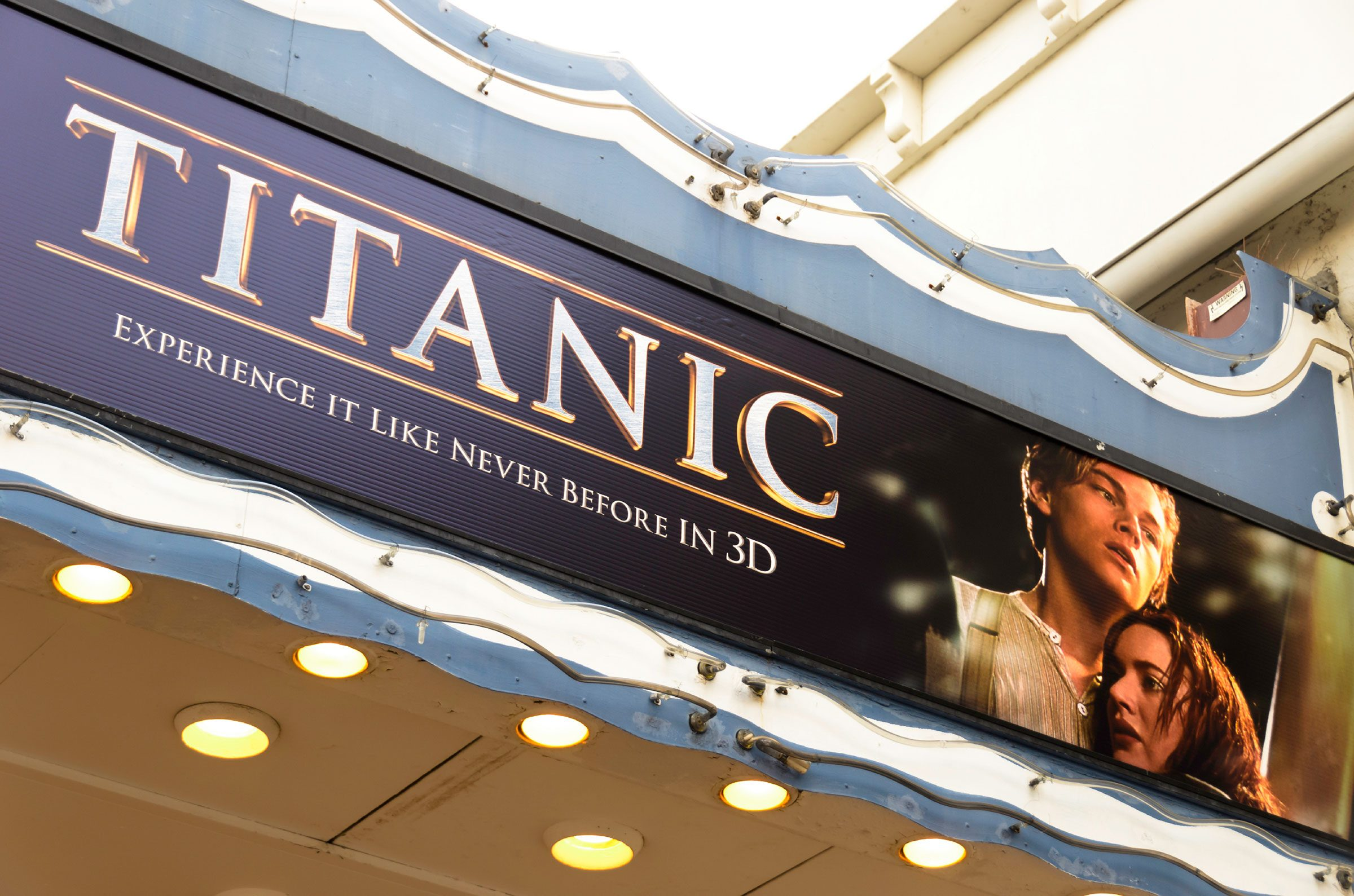 2. Nearly five <i>Titanics</i> could be built with the money James Cameron's <i>Titanic</i> movie has made worldwide