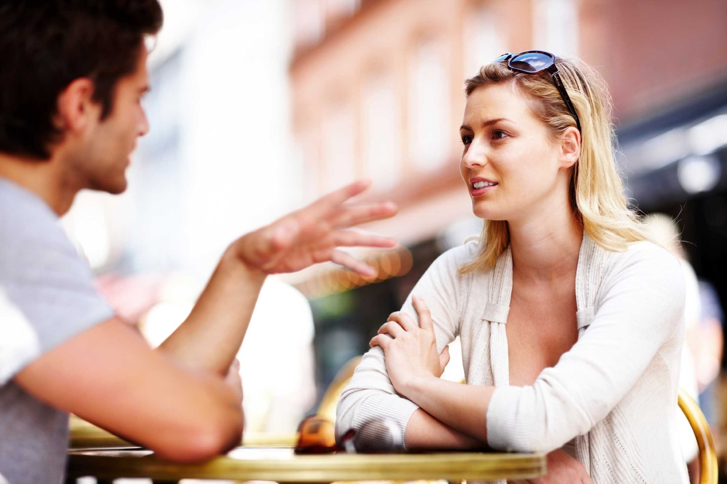 Body language and dating