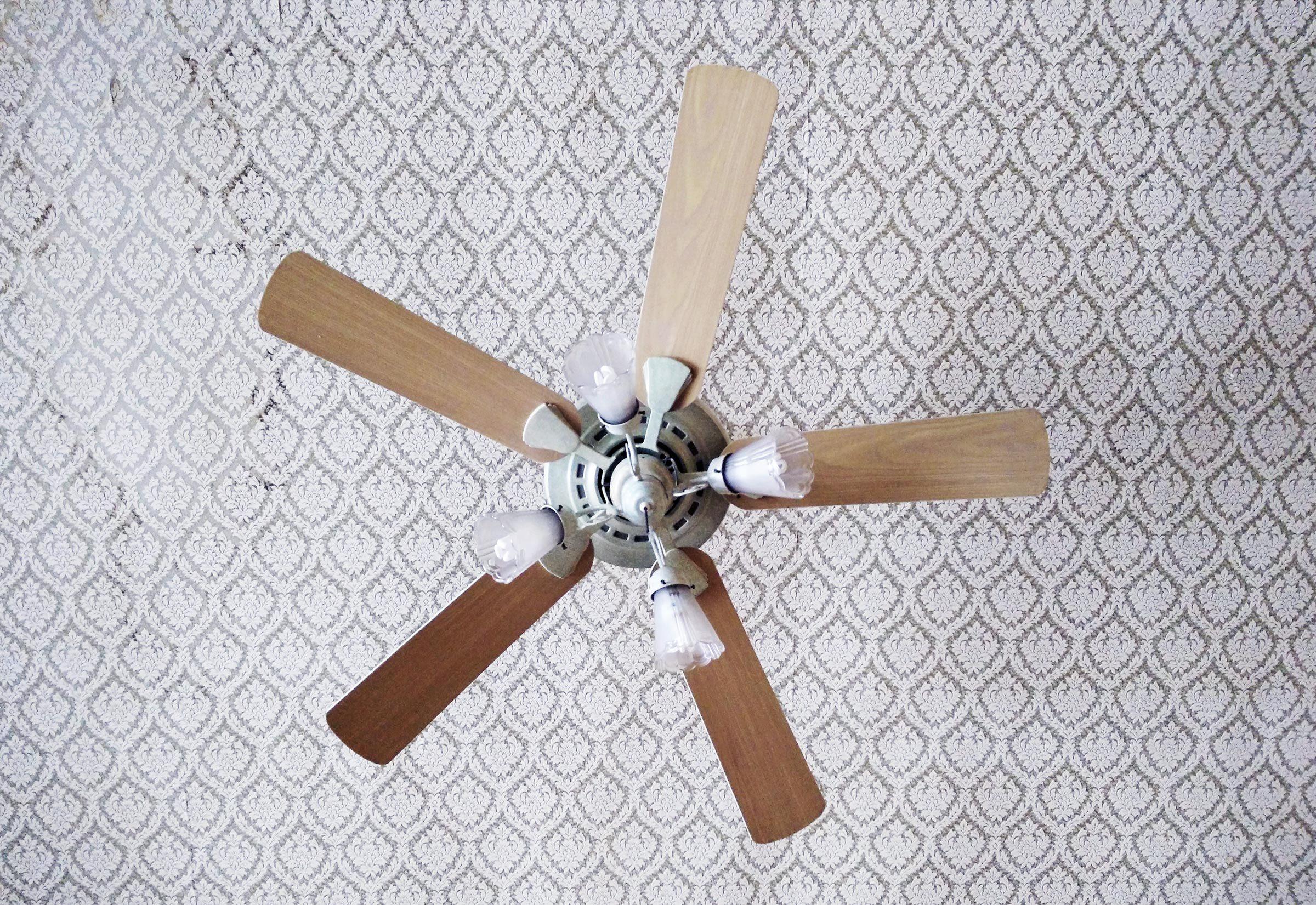 Clean ceiling fixtures