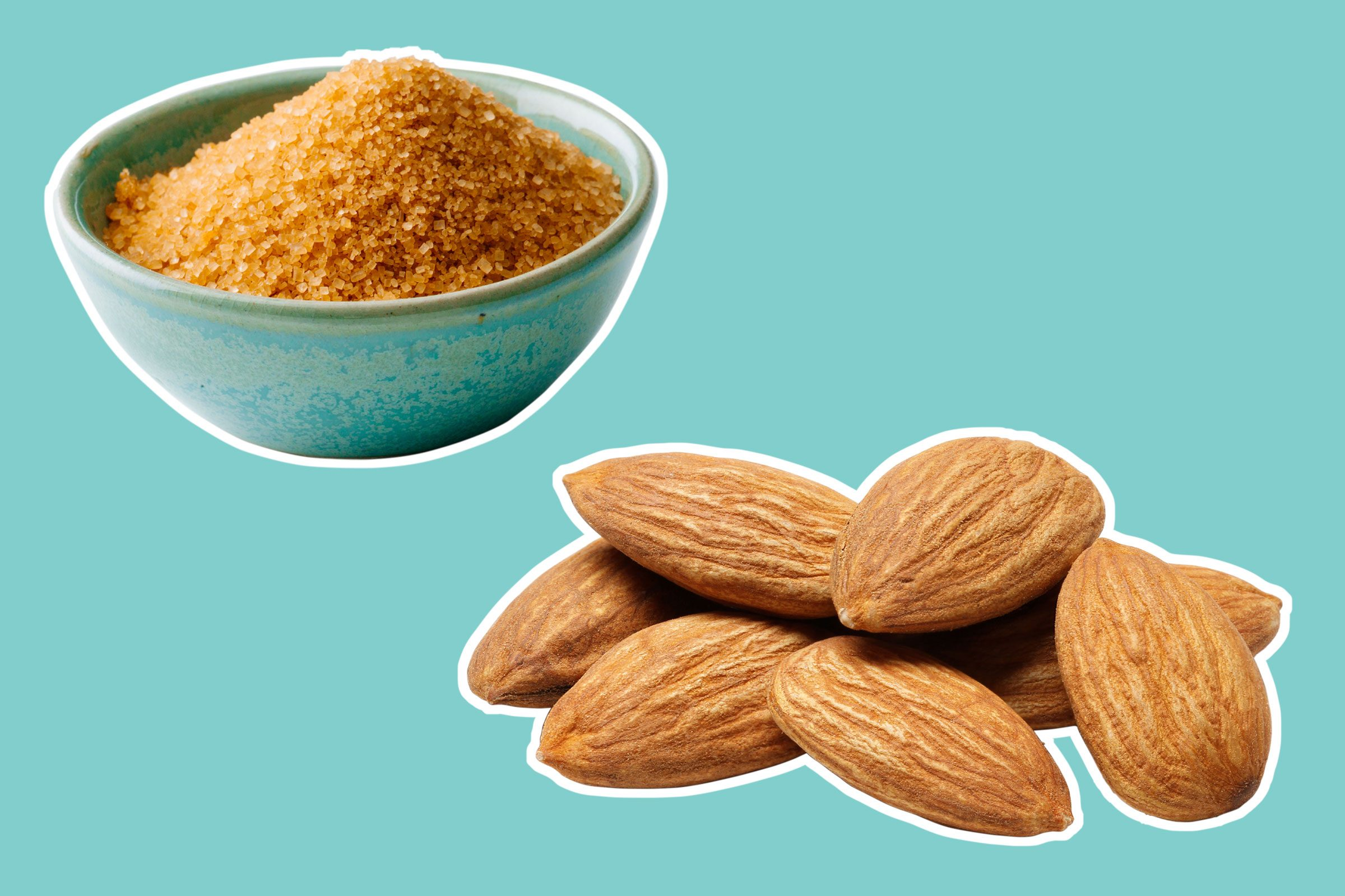 Almond-Sugar Facial Scrub
