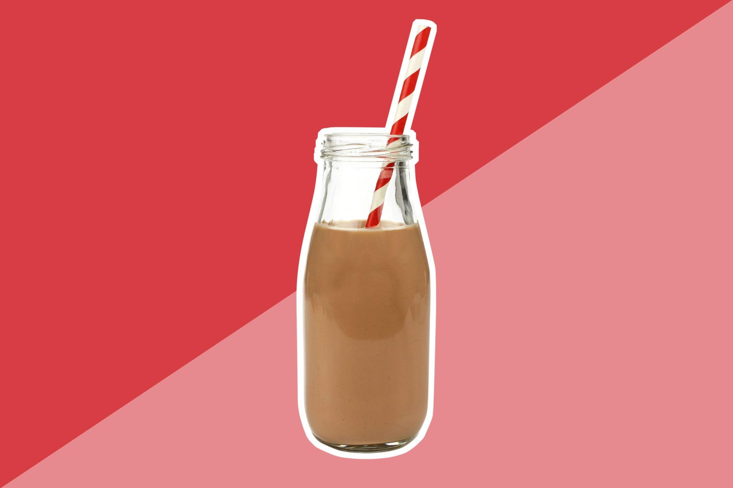 Flavored non-dairy milks