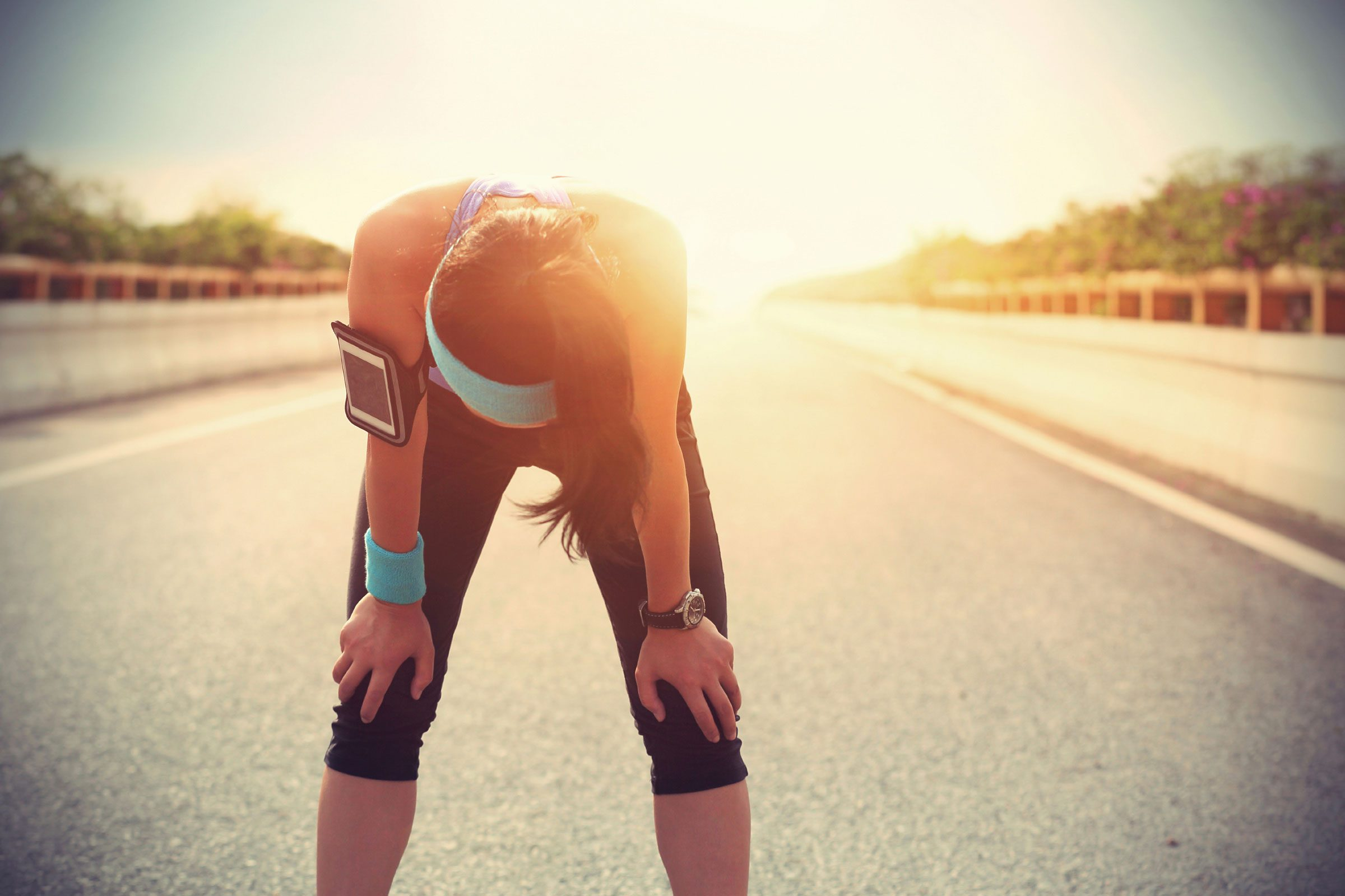 Why do I sometimes get side stitches when I run?