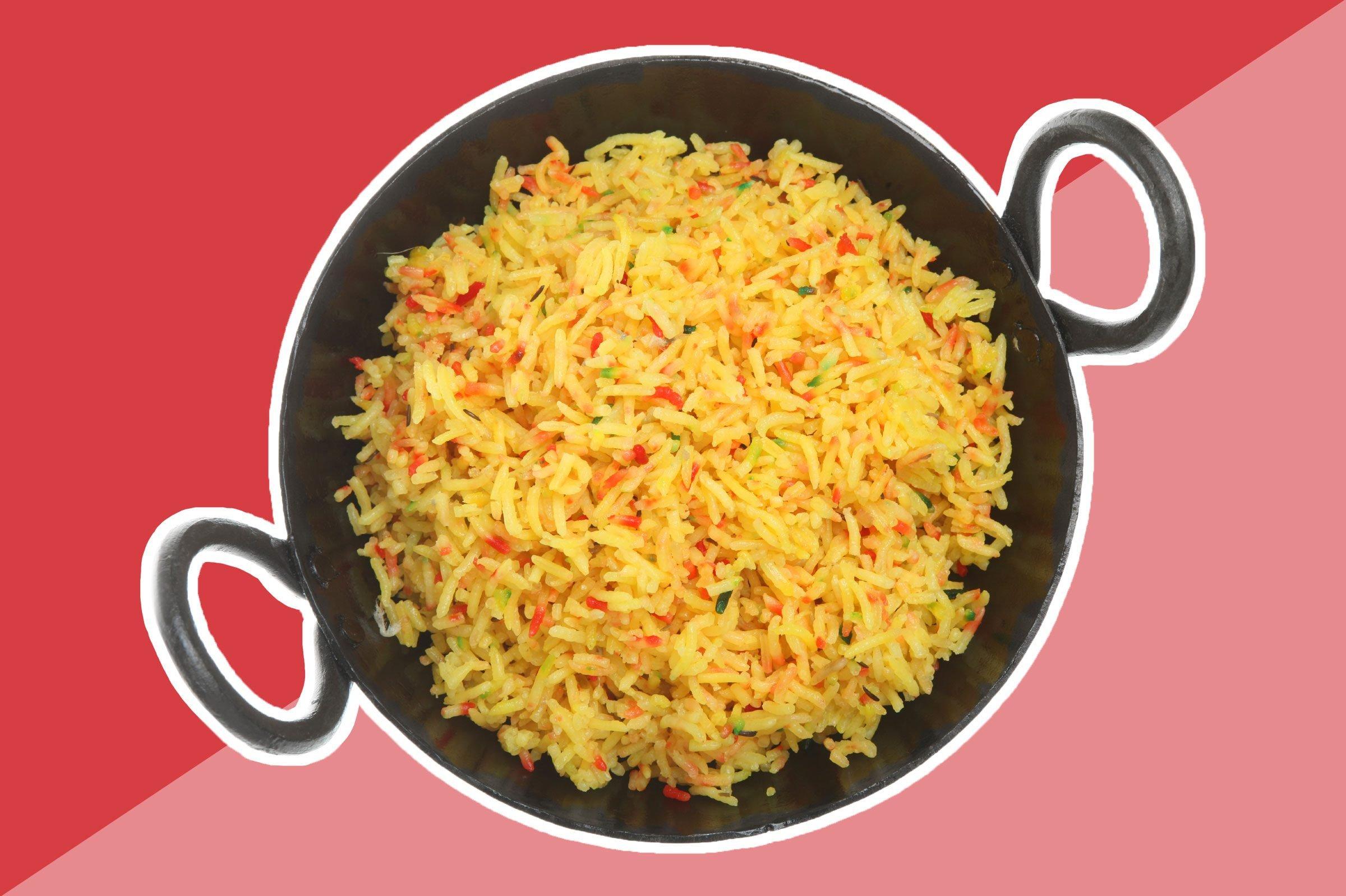 Boxed rice 'entree' or side-dish mixes