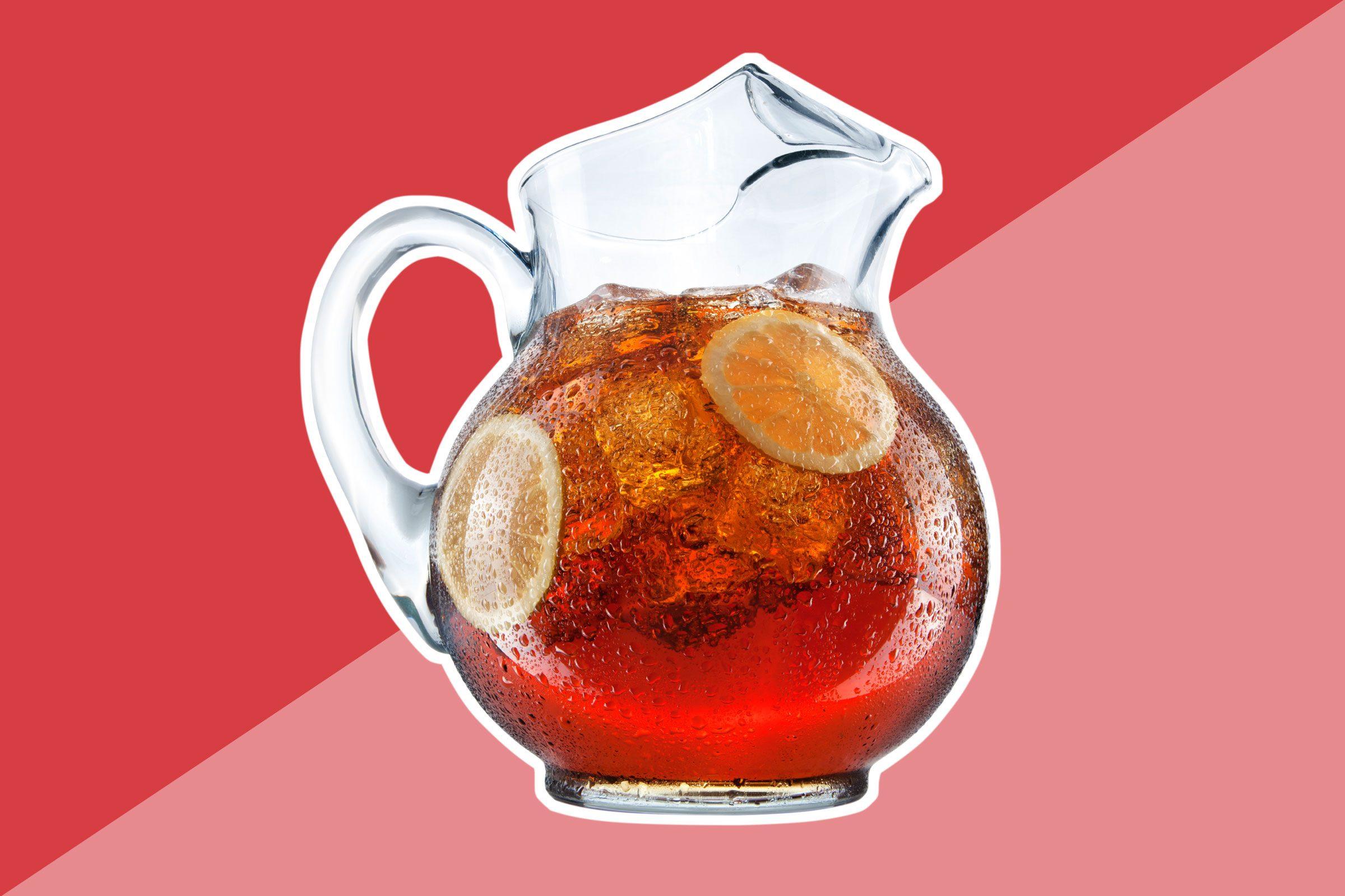 Powdered iced tea mixes or prepared flavored iced tea
