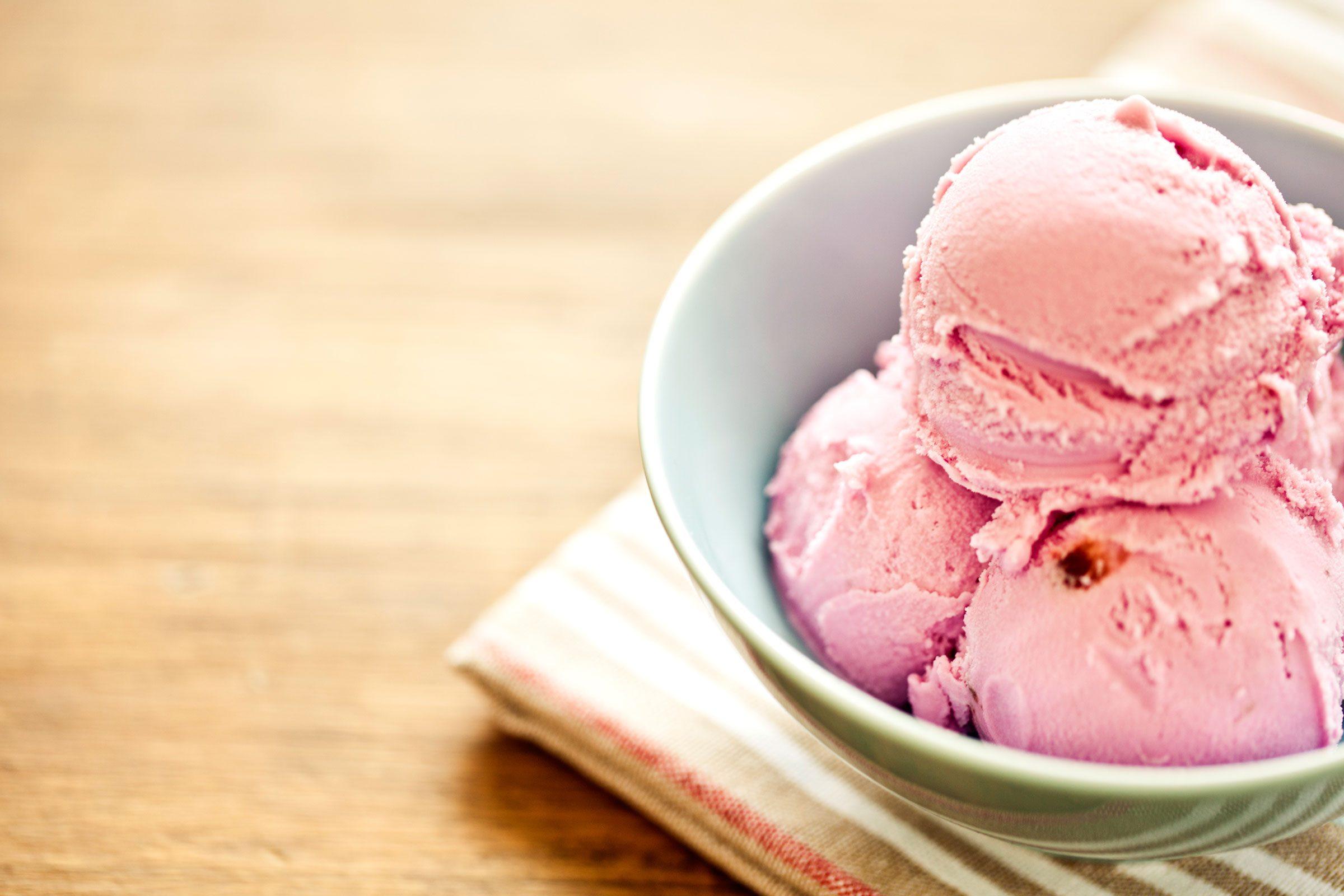 Soften ice cream hard as a brick
