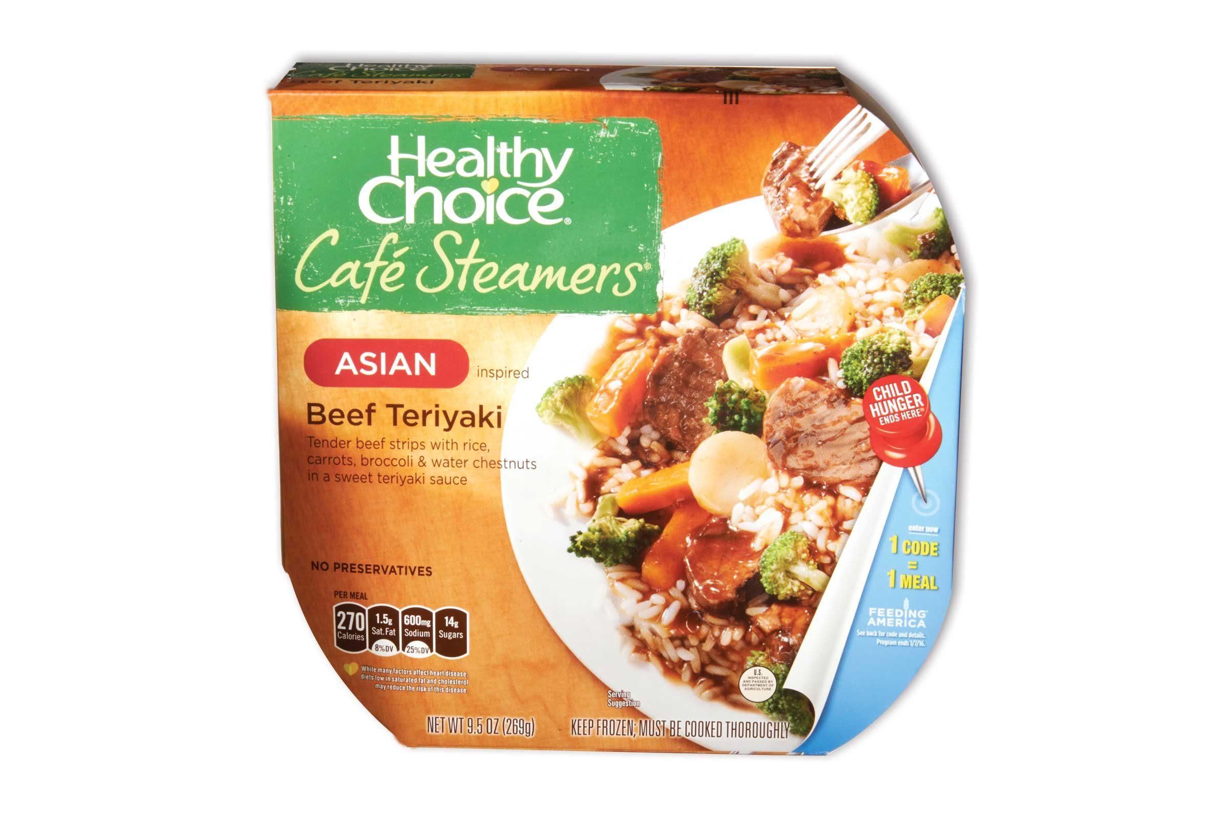 Healthy Choice Café Steamers Beef Teriyaki 270 Calories