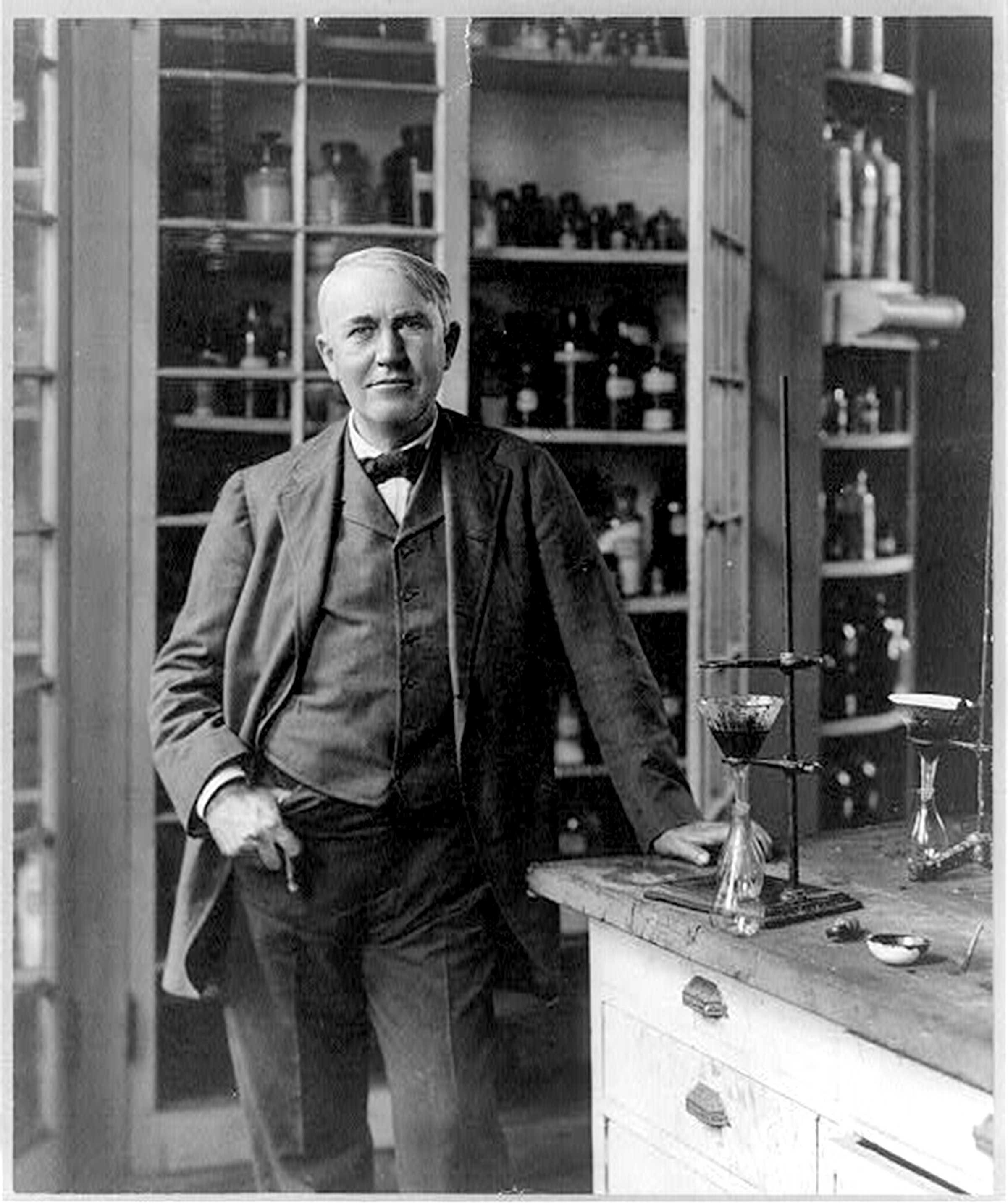 the inventions of thomas edison What would your life be like without light bulbs, tv, movies, or recorded music i bet you're glad you don't have to find out thomas edison is.