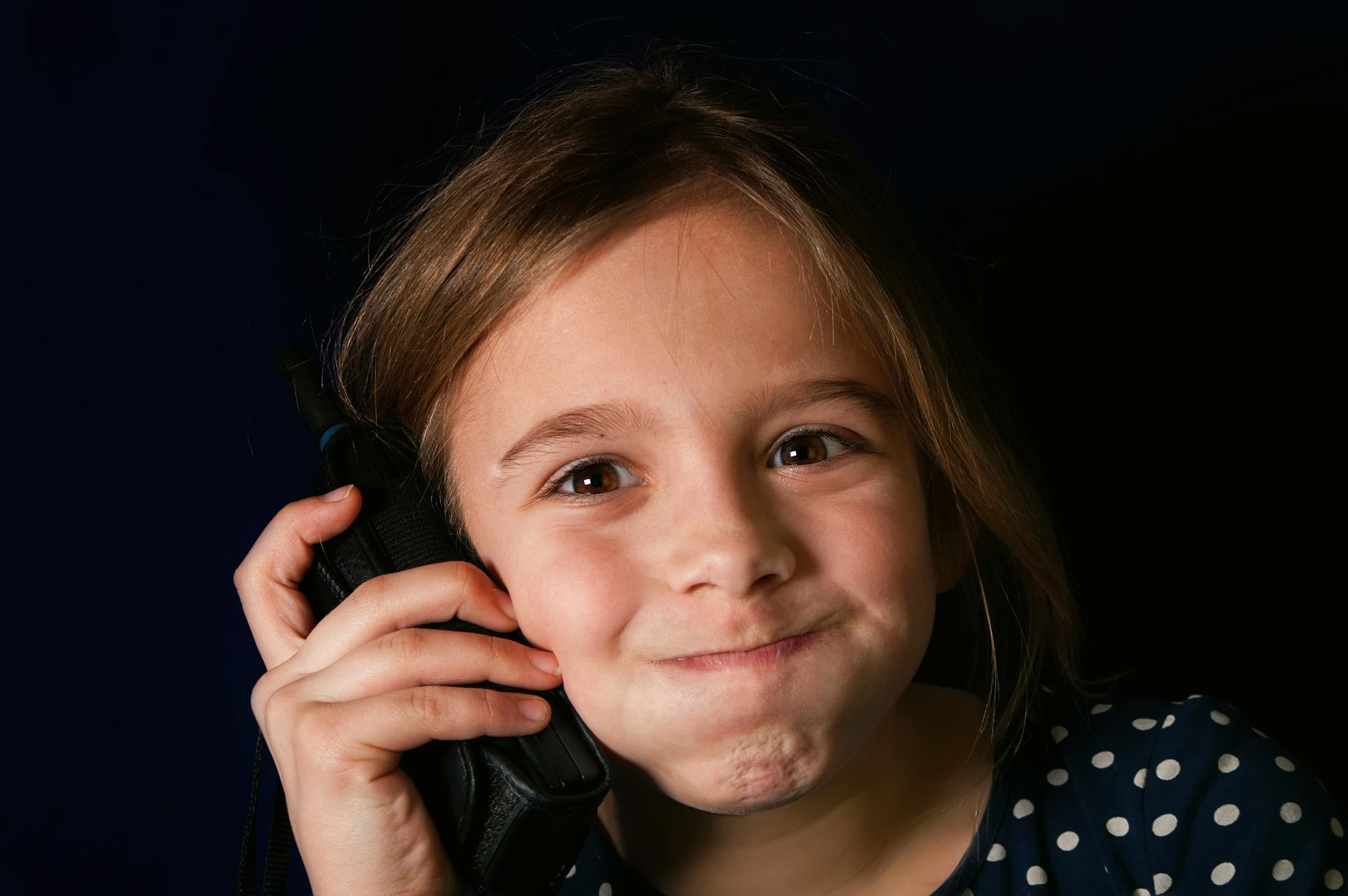 2. We know when kids are prank-calling us.