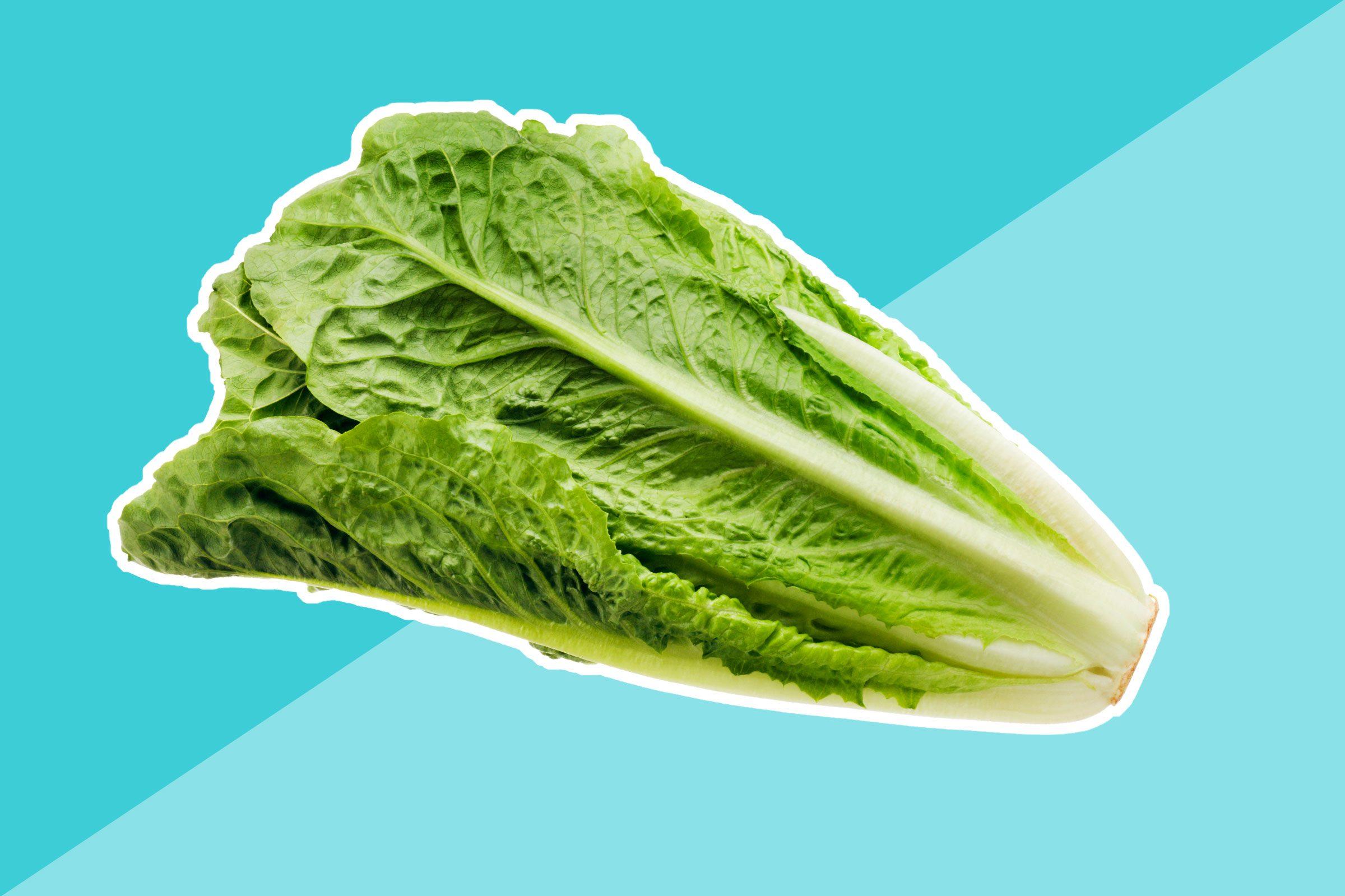 2. Romaine lettuce
