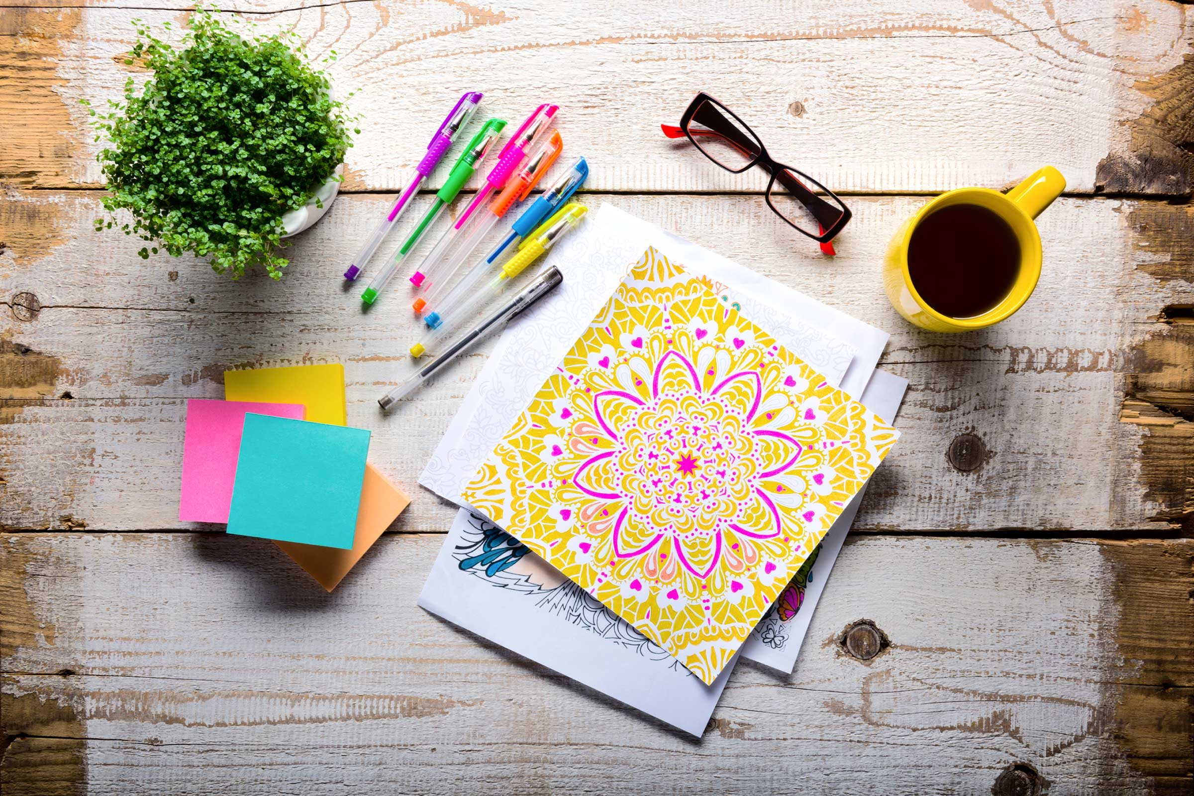 Colouring adults benefits - Coloring Lets You Nurture Your Inner Artist