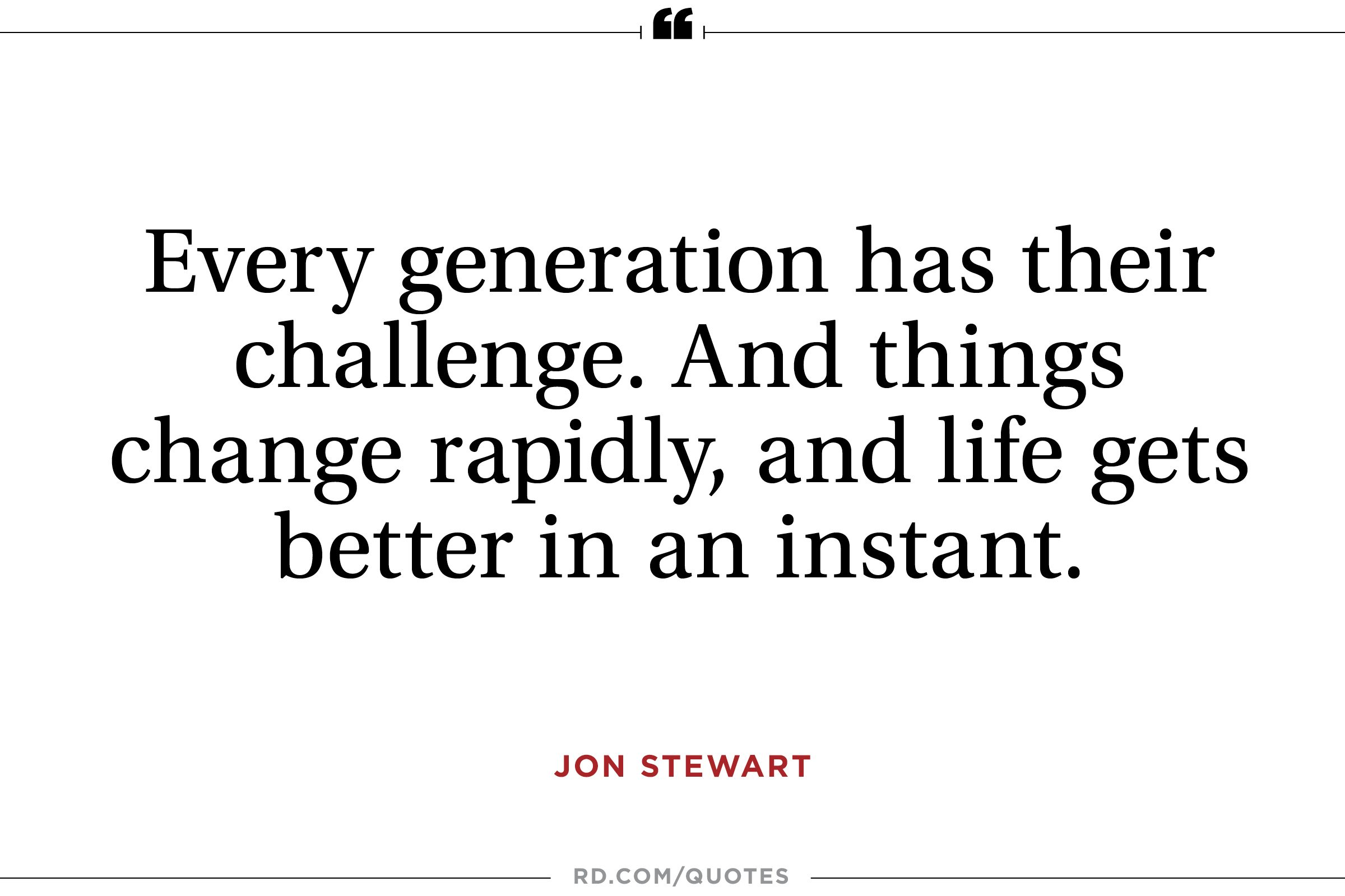 Jon Stewart on the Future