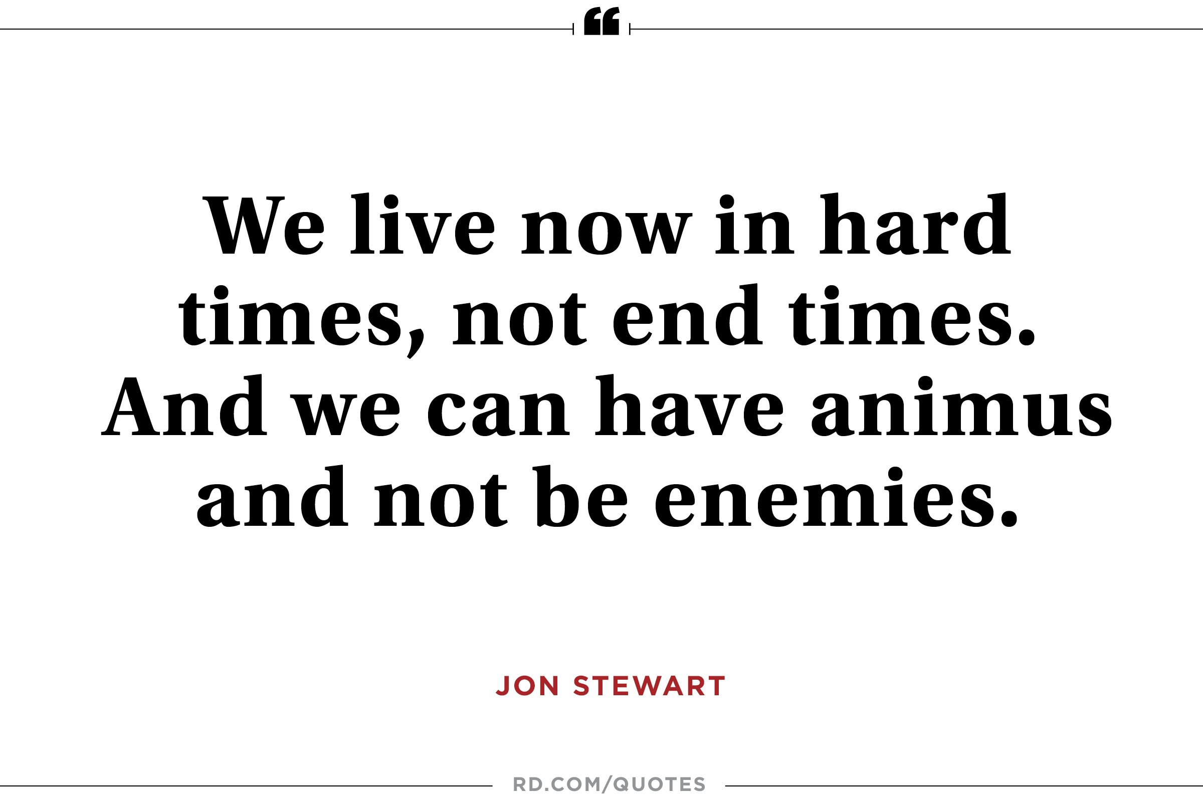 Jon Stewart on Hope