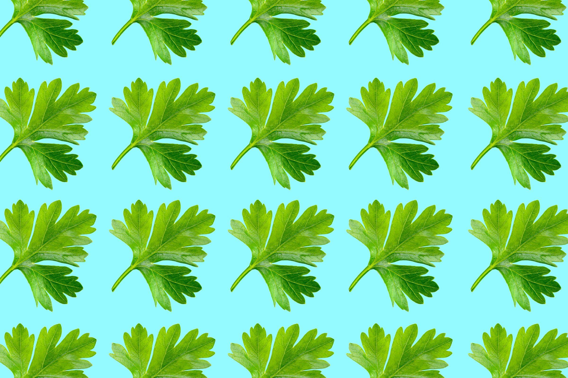Herbs: Mince first