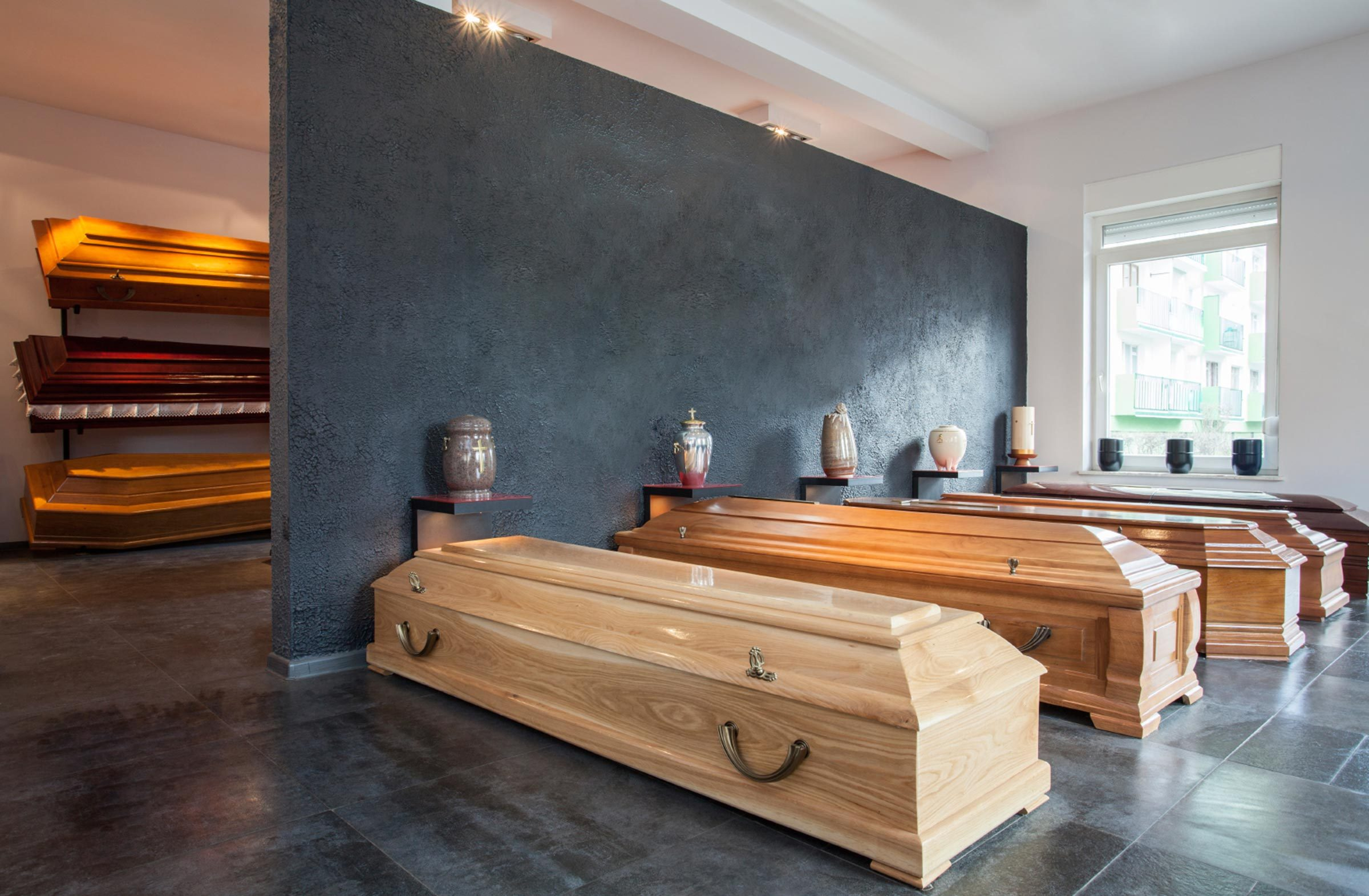 8. If there's no low-cost casket in the display room, ask to see one anyway.