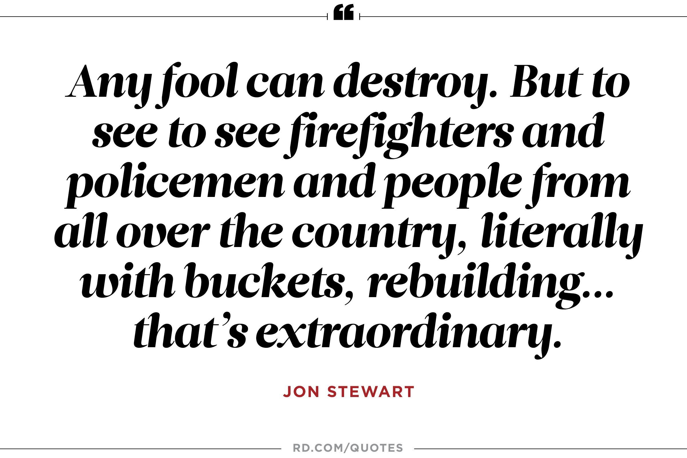 Jon Stewart on Humanity