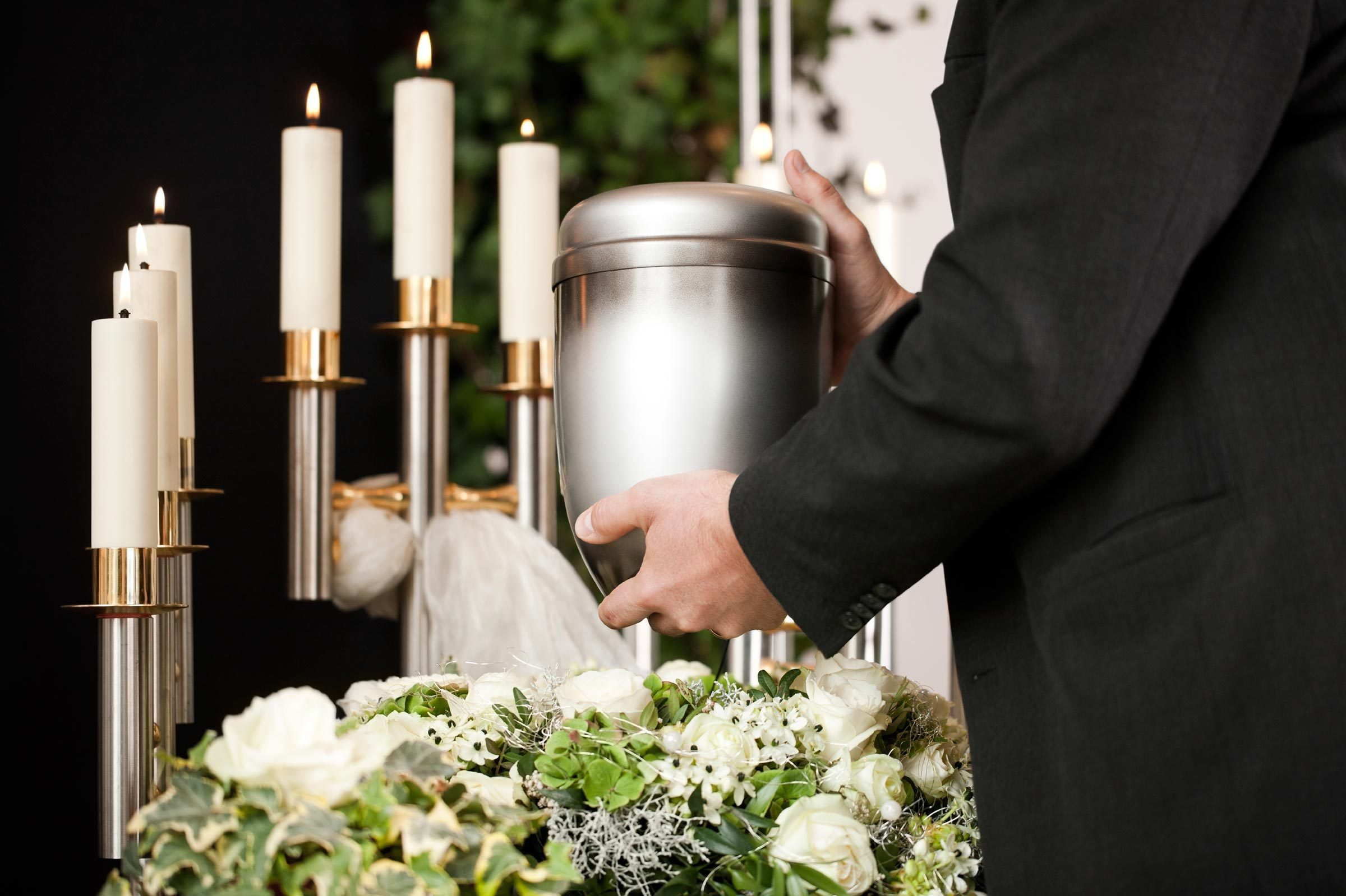 9. Ask the crematory to return the ashes in a plain metal or plastic container — not one stamped temporary container.