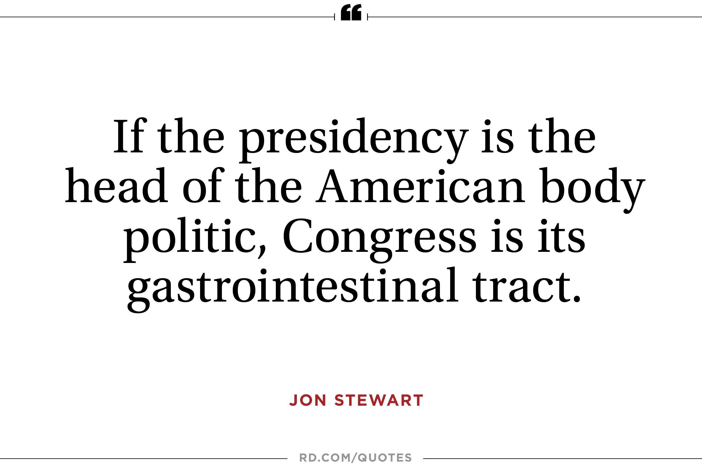 Jon Stewart on Congress