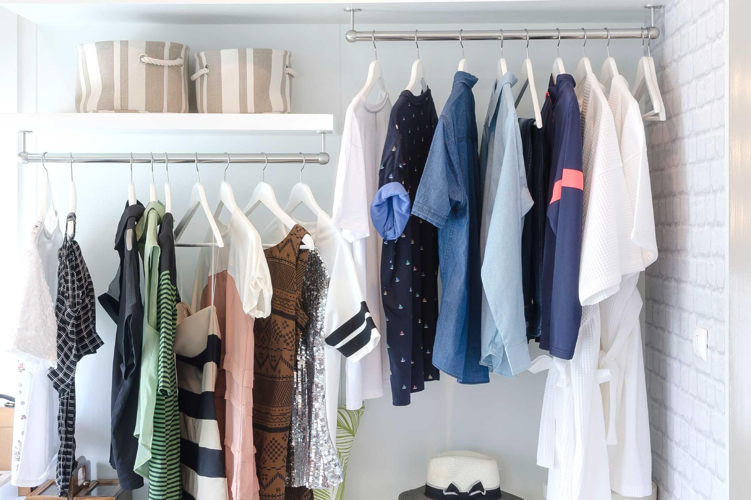 Squeeze More... Clothes into a closet
