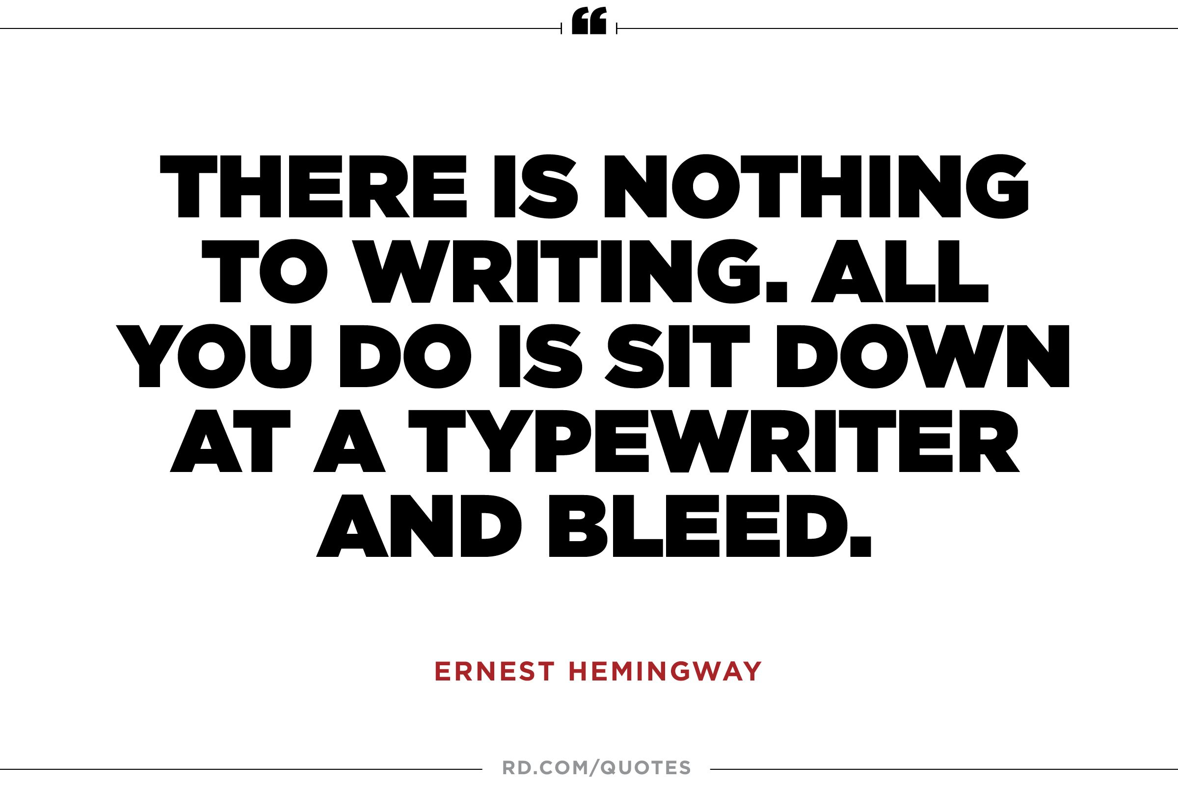 ernest hemingway biography essay example Ernest hemingway biography author (1899–1961) nobel prize winner ernest hemingway is seen as one of the great american 20th century novelists, and is known for works like 'a farewell to arms.