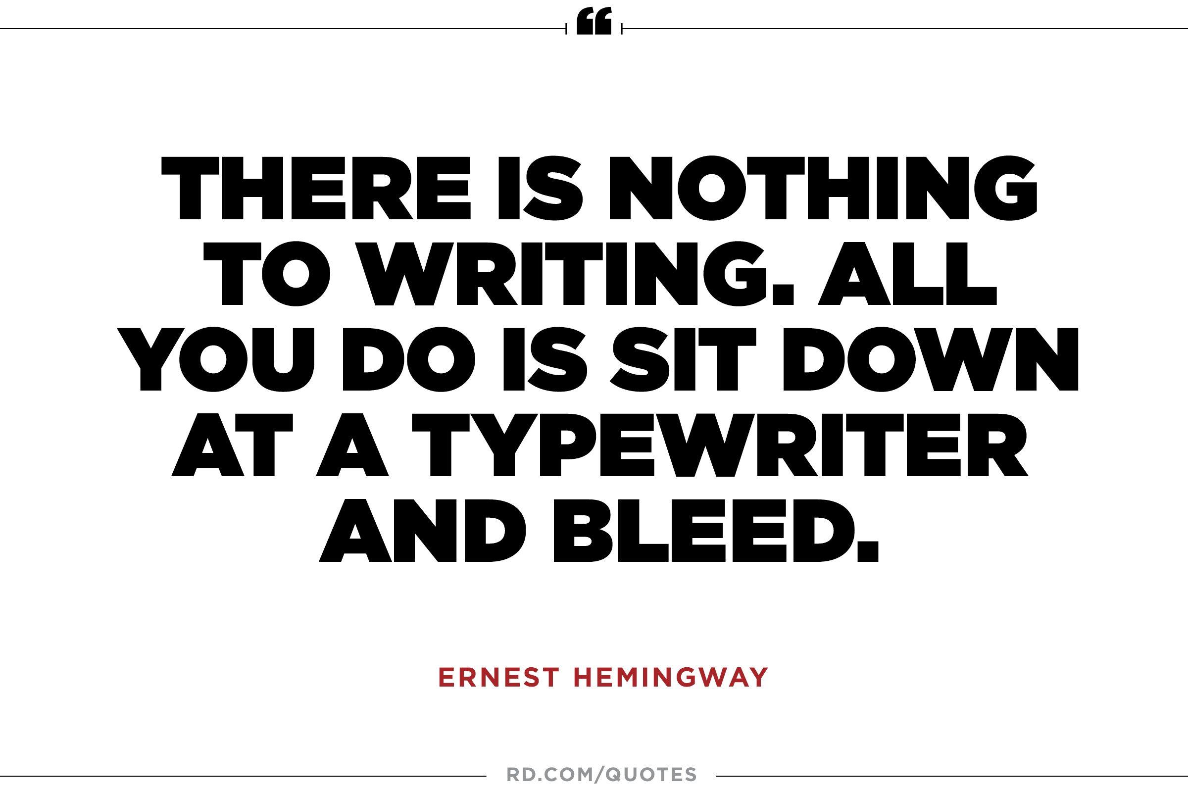 writing style of ernest hemingway essay