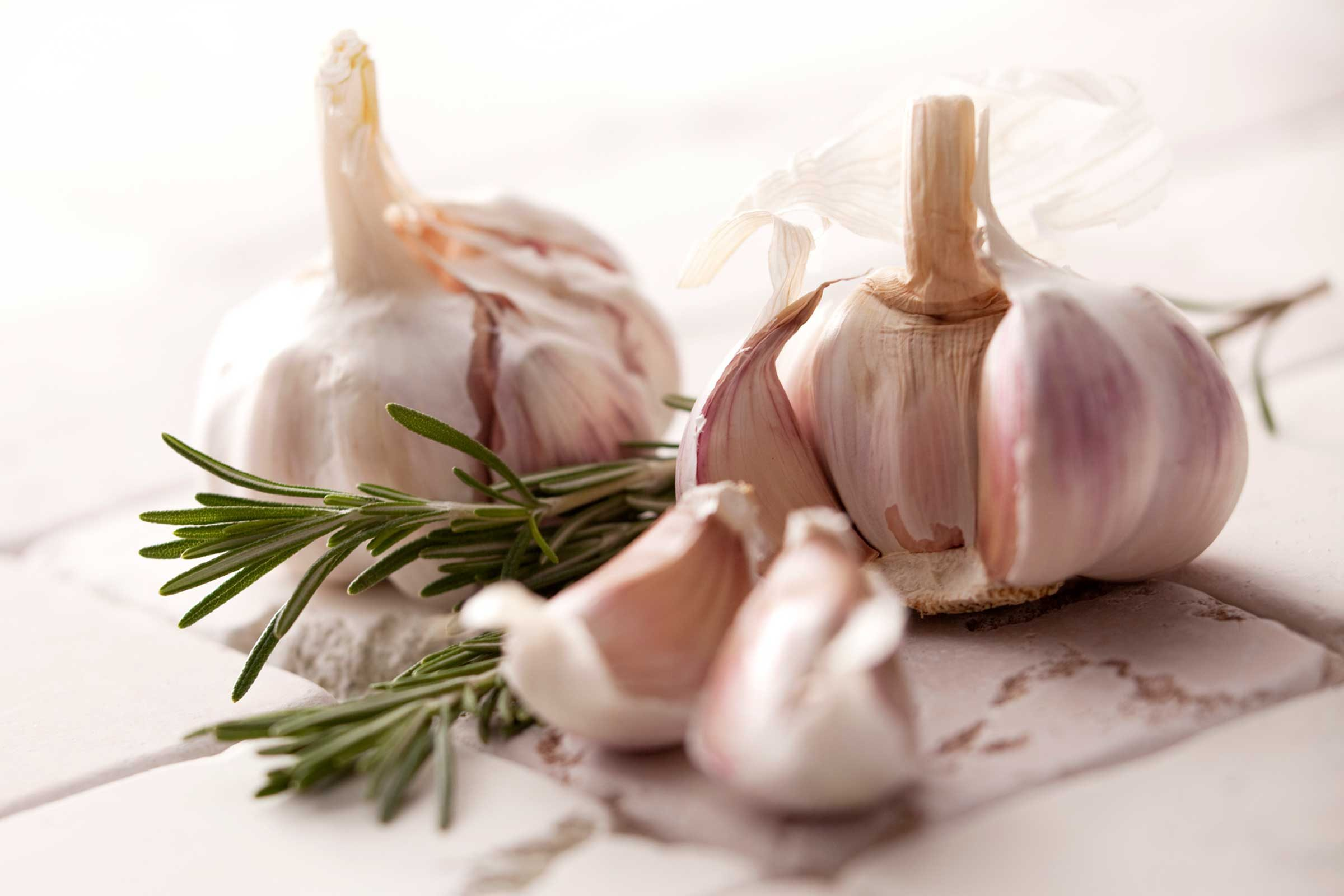 Add garlic to everything you eat