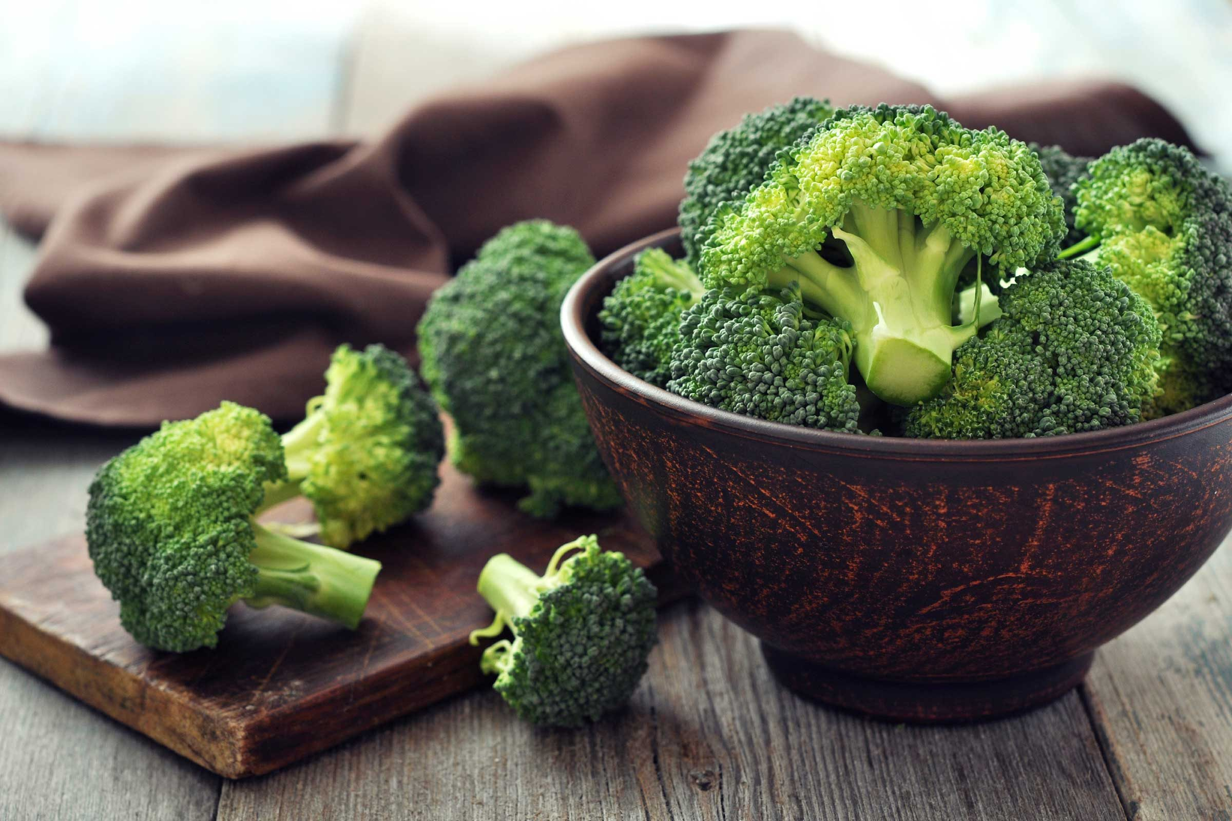 Eat your fill of broccoli, but steam it rather than microwaving it