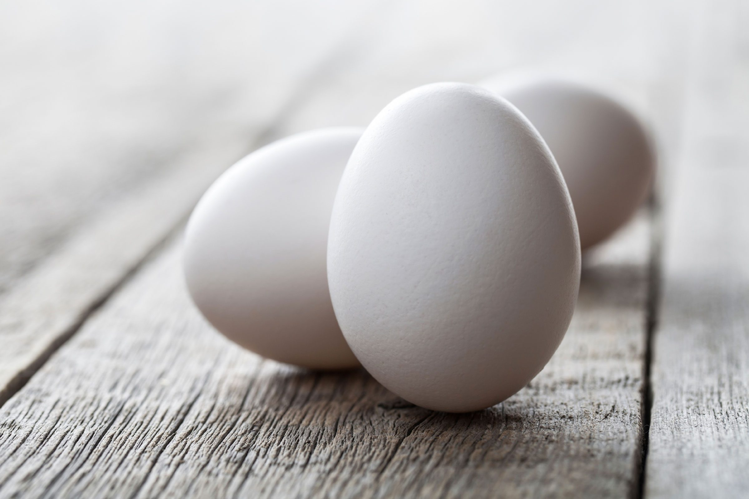 Adult allergy to eggs