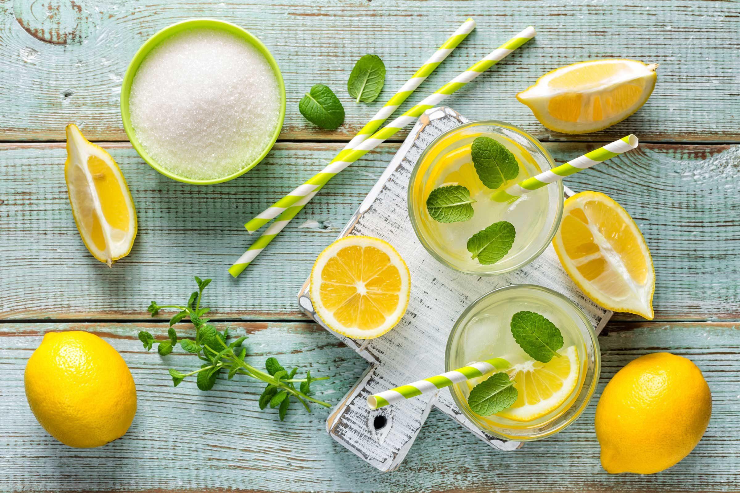 Make a batch of fresh lemonade or limeade