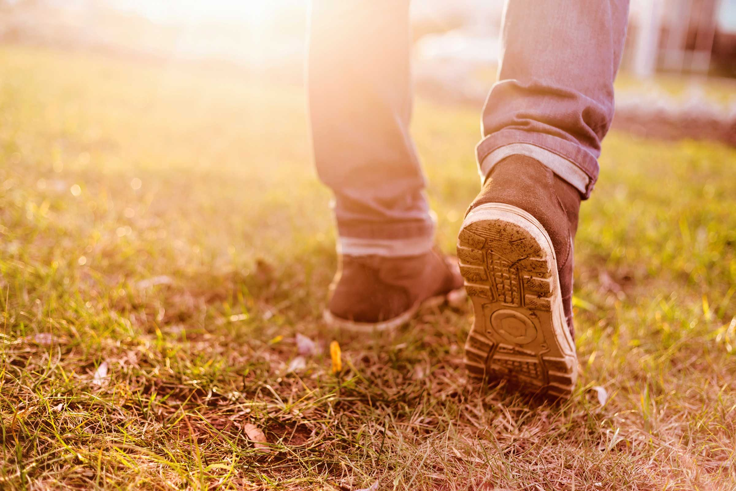 "Once a day, go for a 10-minute ""thank you"" walk"