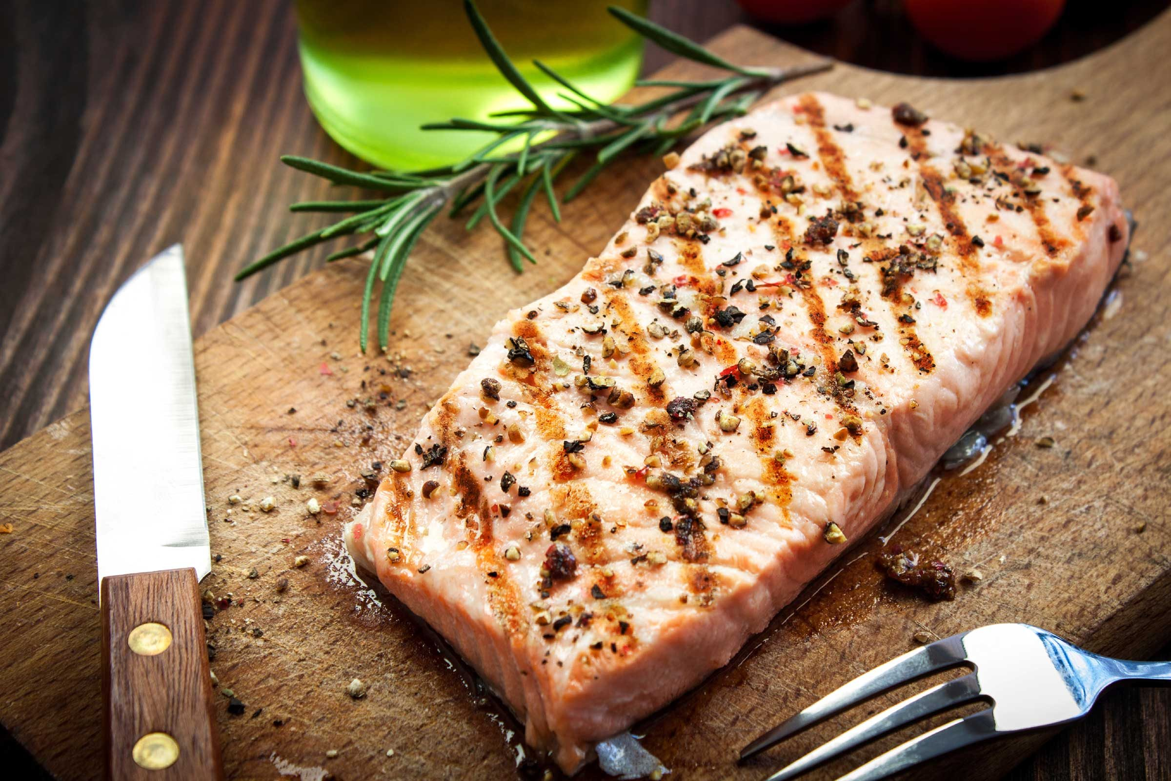 Throw some salmon on the grill tonight