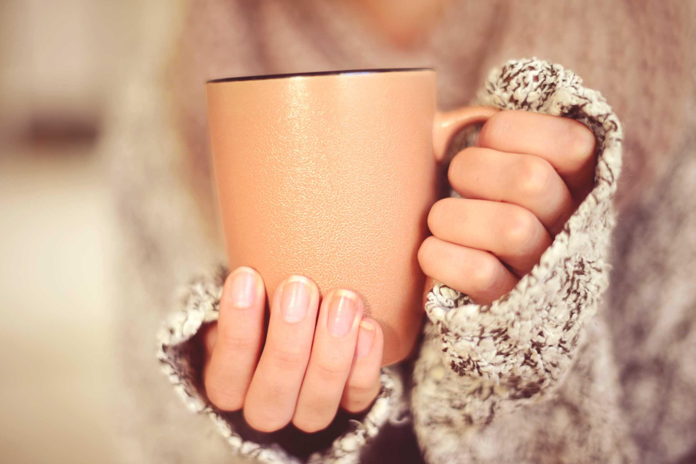 Le corps brûle des calories quand vous avez froid