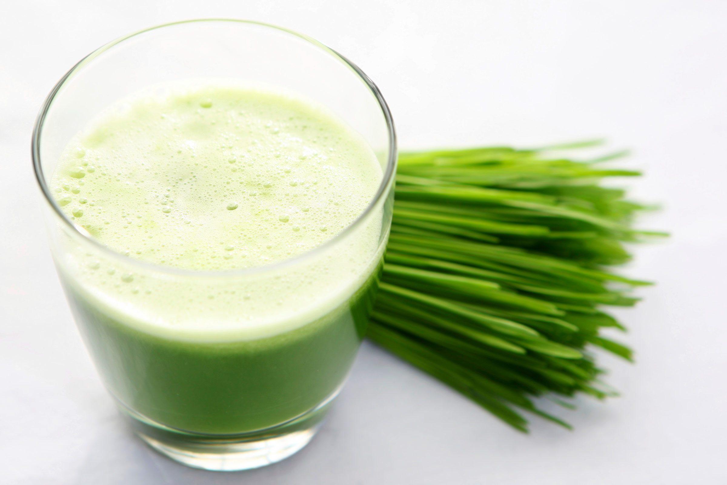 Sore throat remedy: Wheatgrass juice