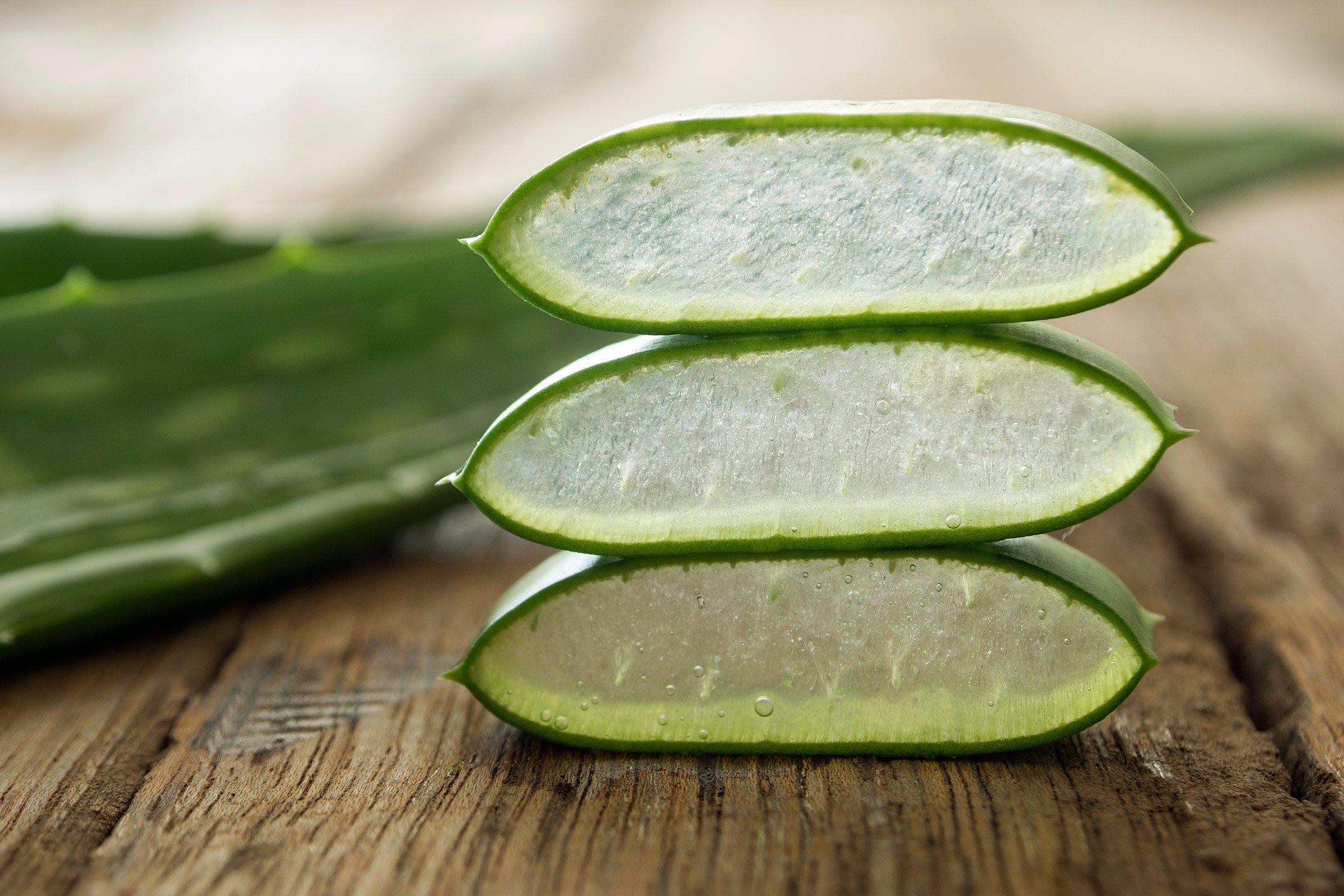 Acne home remedy: Aloe