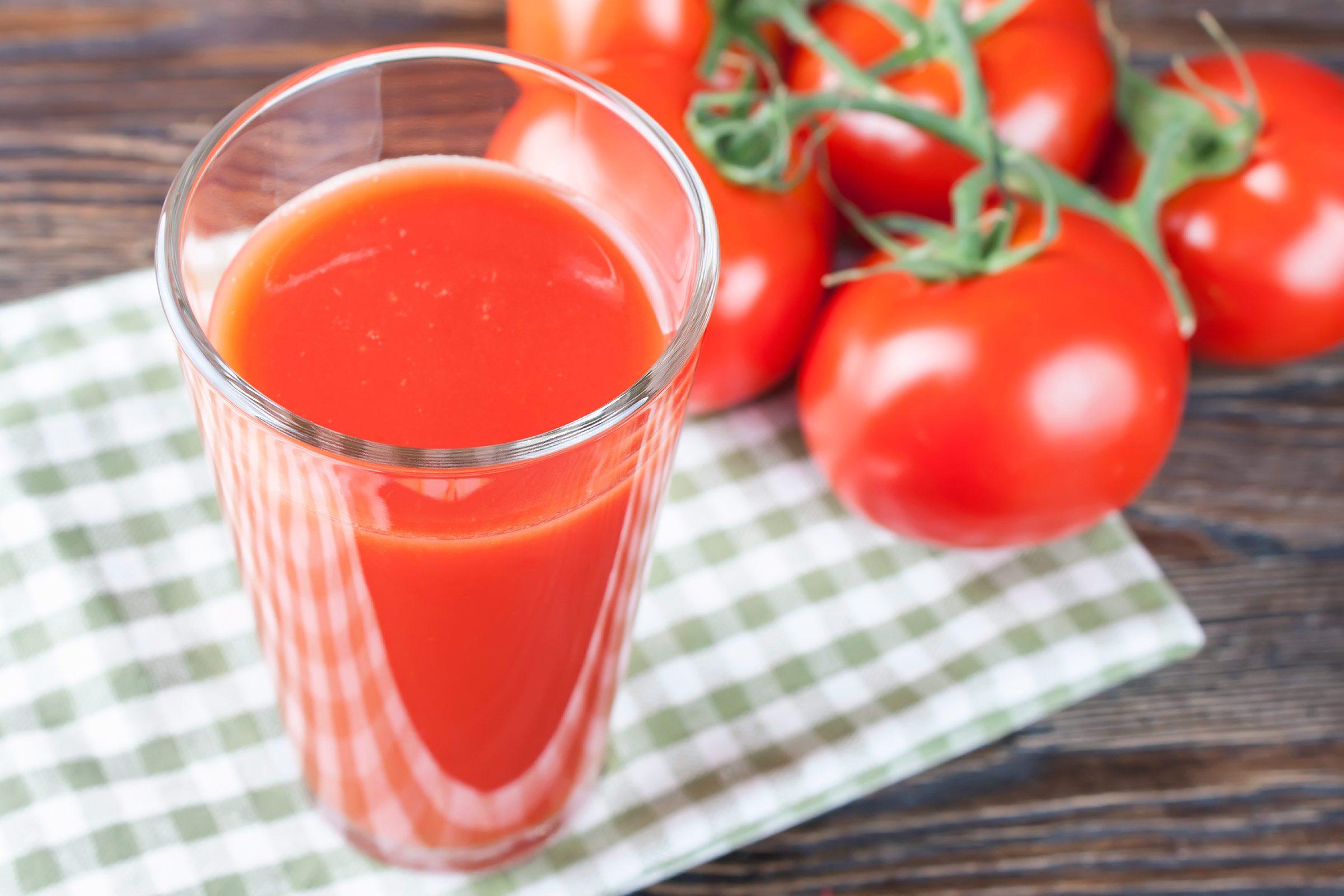 Sore throat remedy: Tomato juice