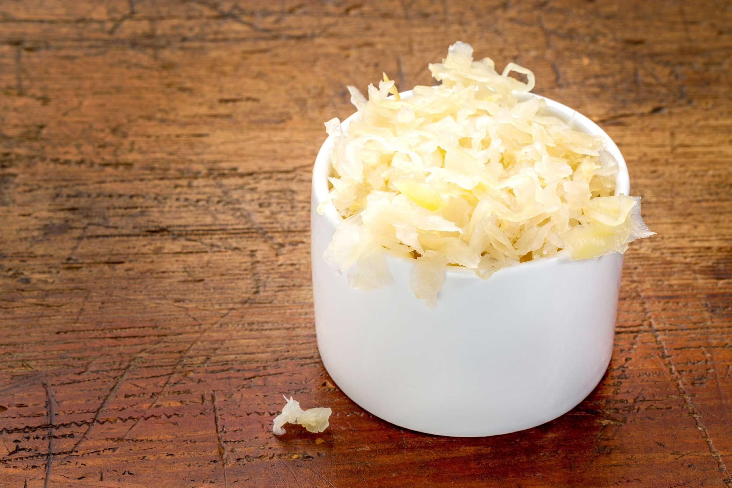 Serve sauerkraut