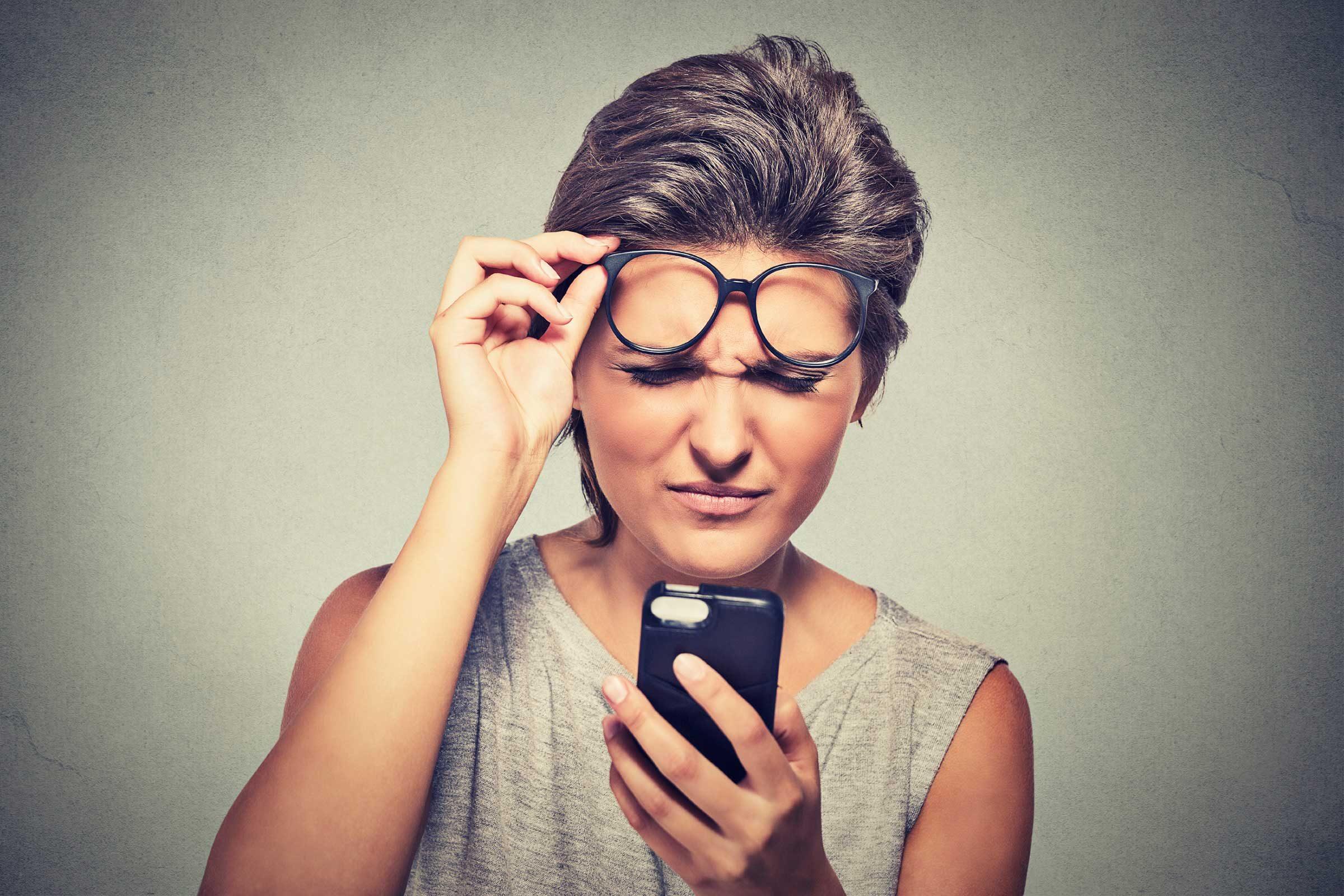 Secret du corps: pour mieux voir, on plisse les yeux