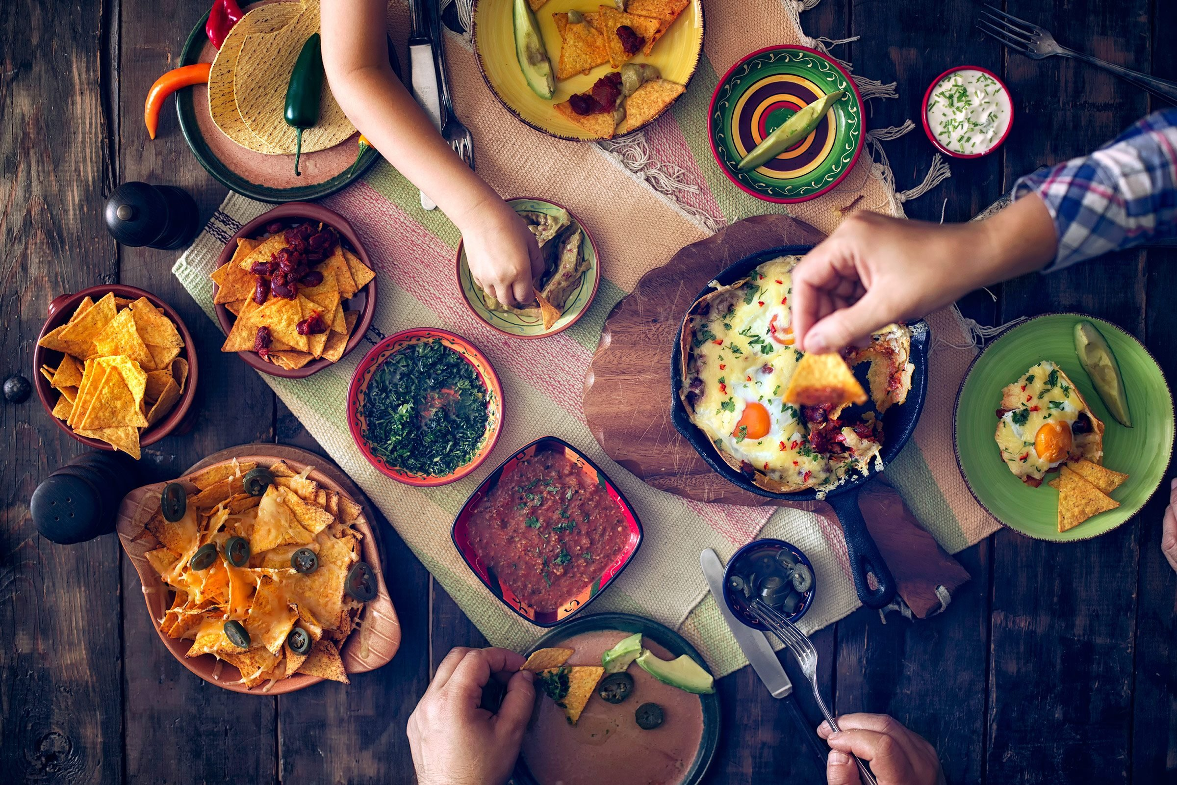 Mexico: Make the midday meal the biggest