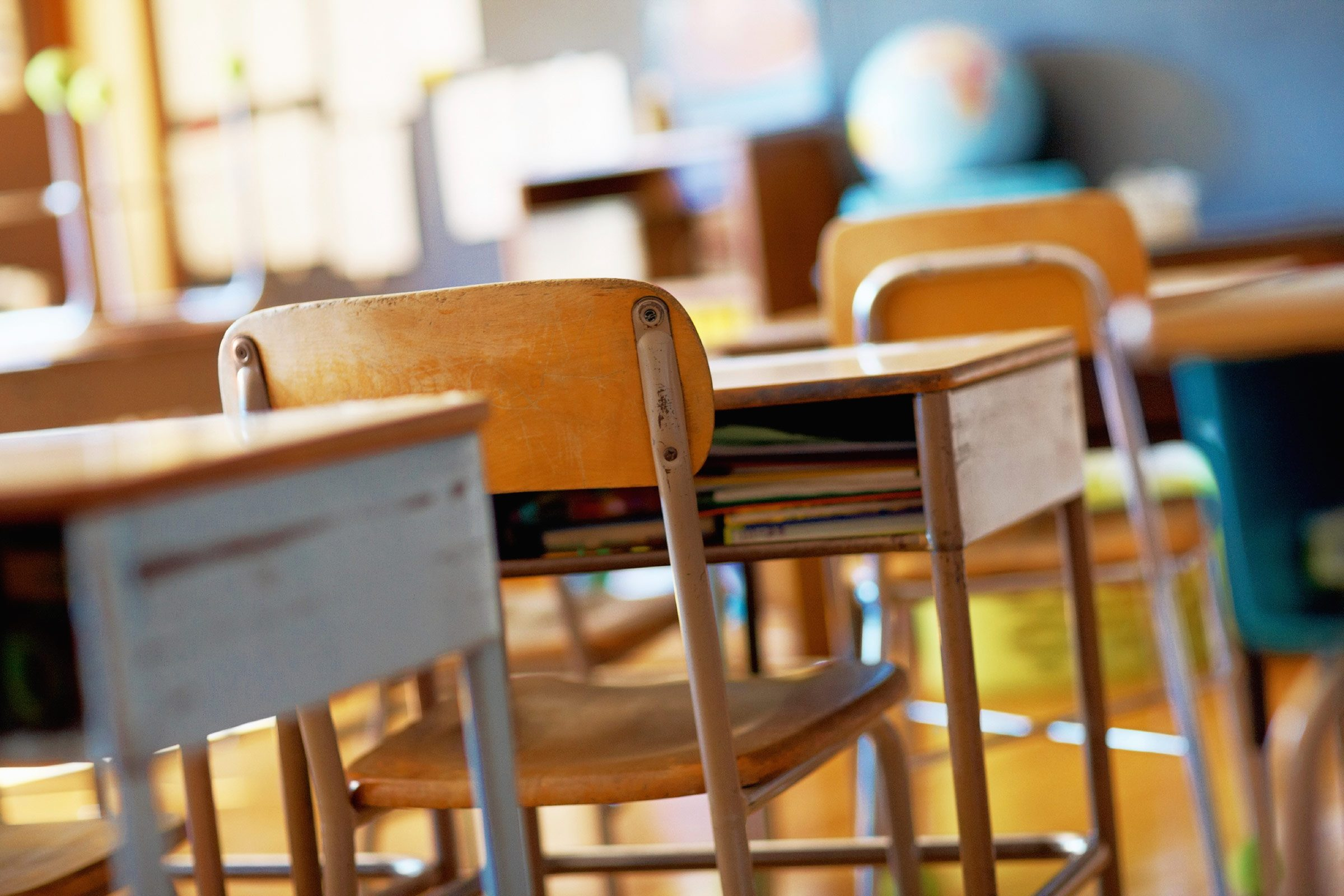 My first year of teaching, a fifth-grader actually threw a chair at me