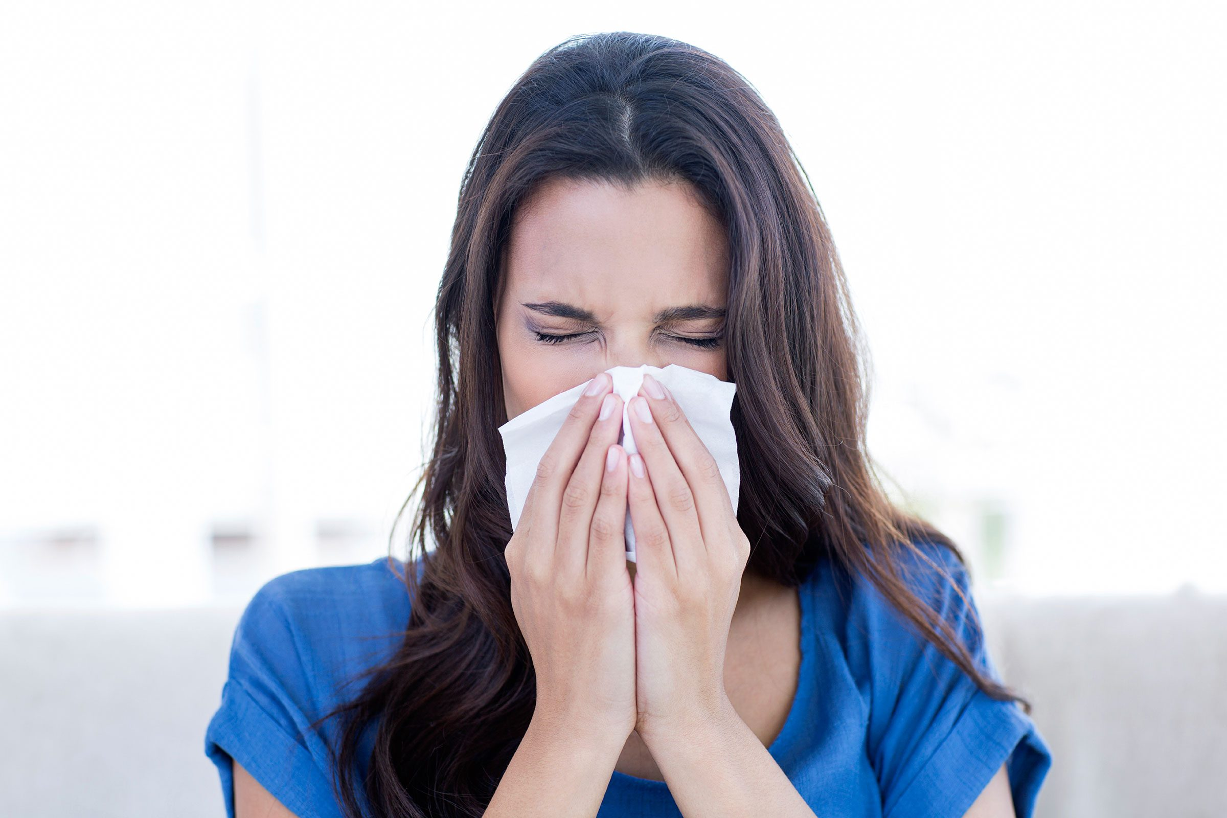 Minimize activities outdoors when pollen counts are at their peak