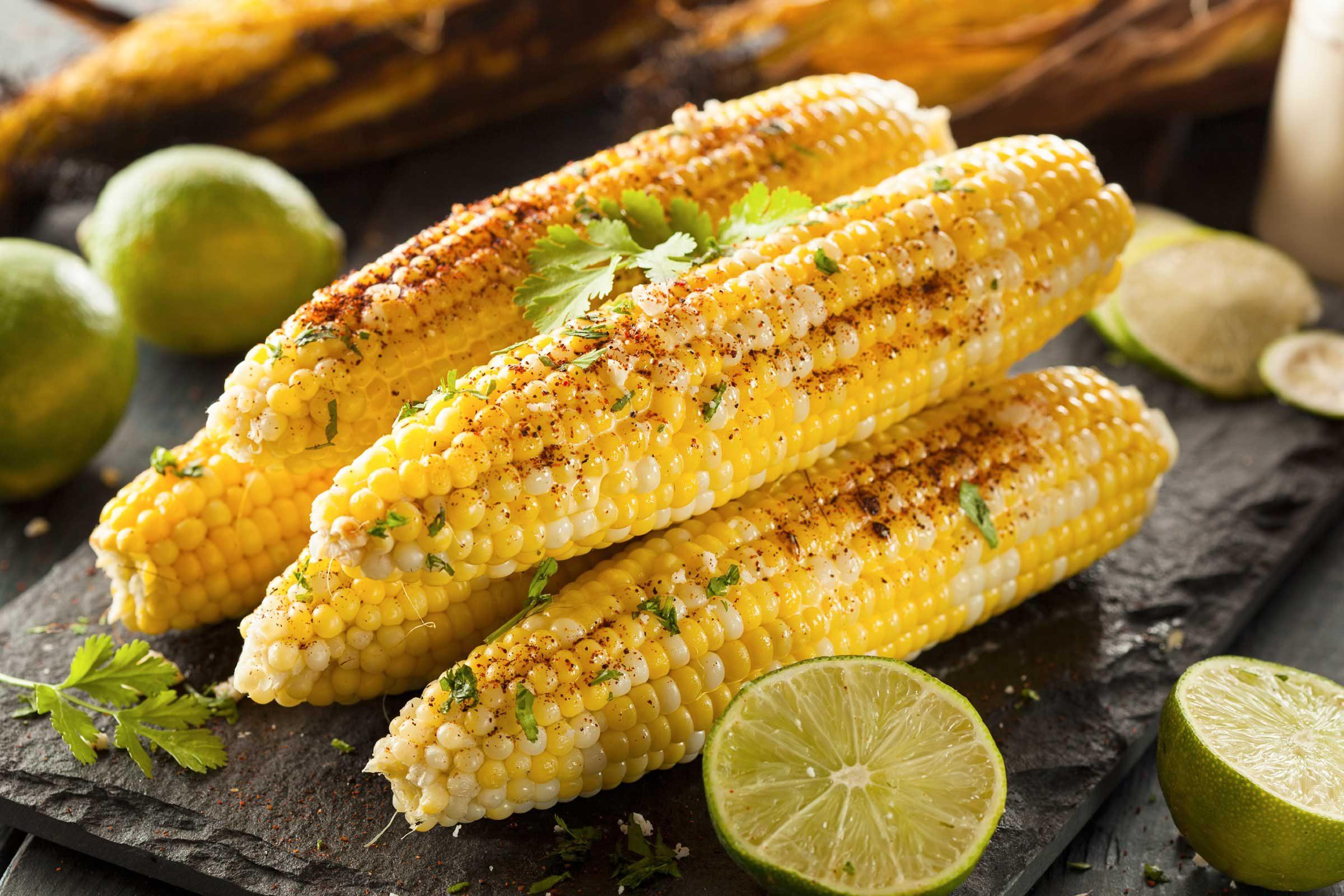 Nibble on corn