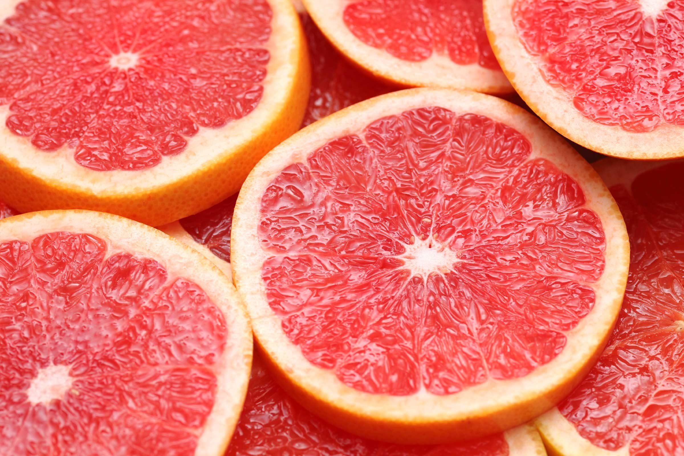 Eat grapefruit for breakfast