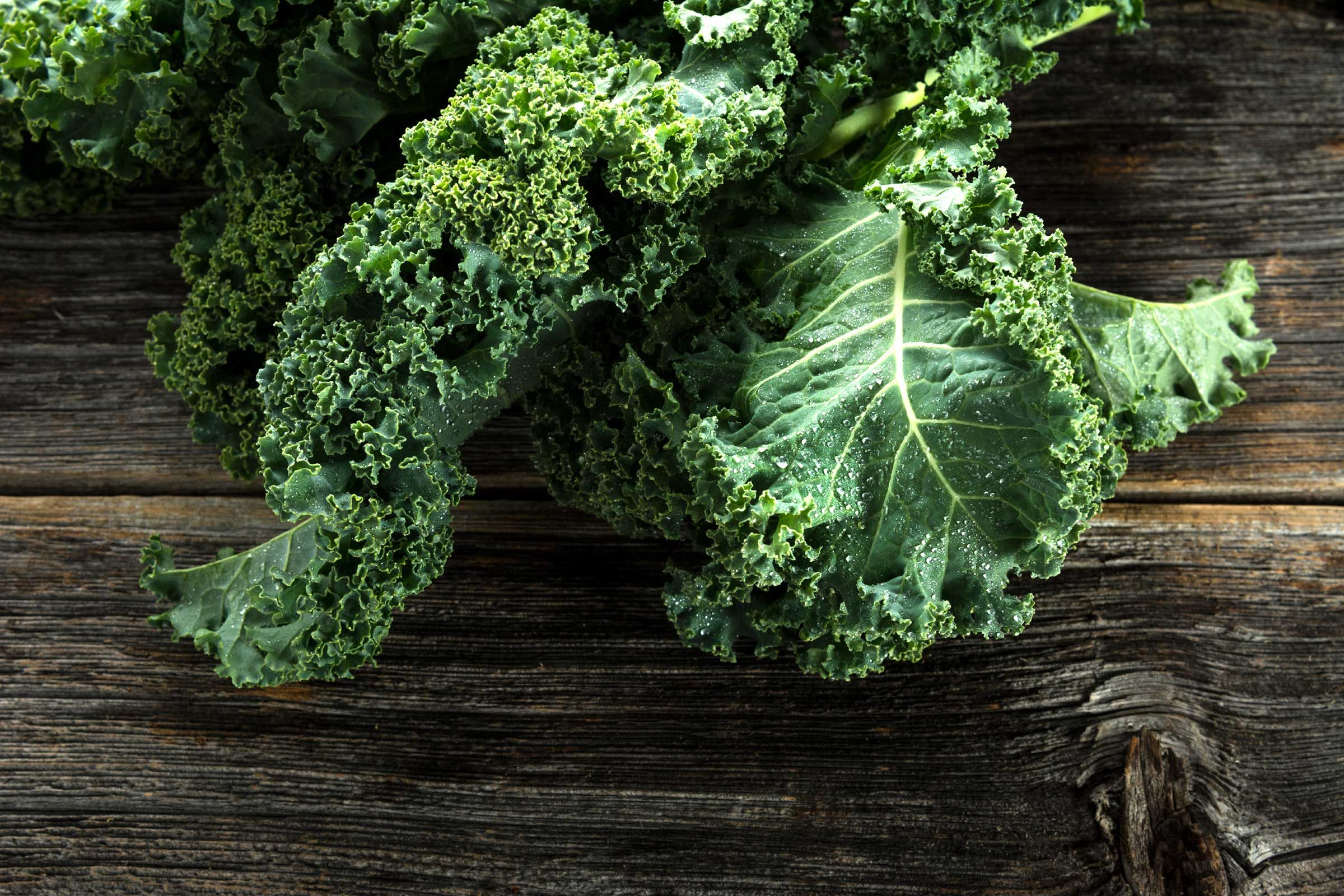 Load up on kale and other cooking greens