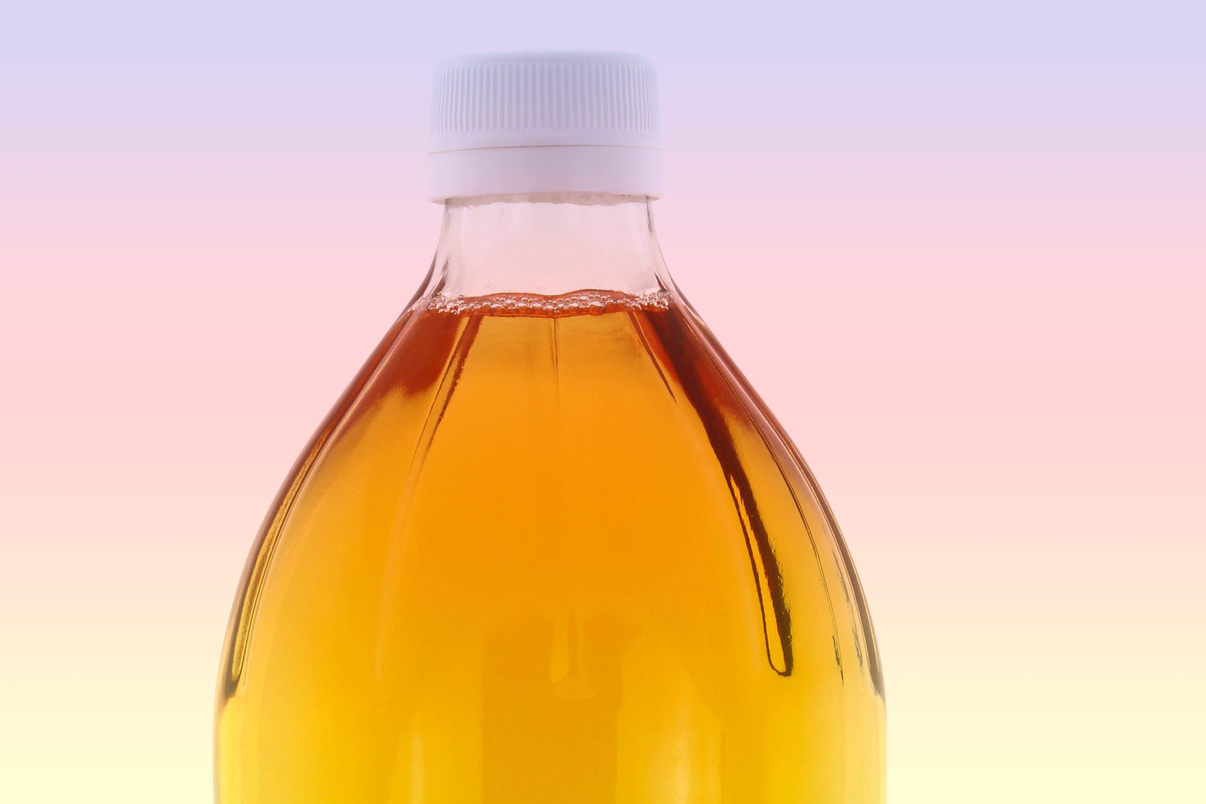 Apple cider vinegar kills the poison